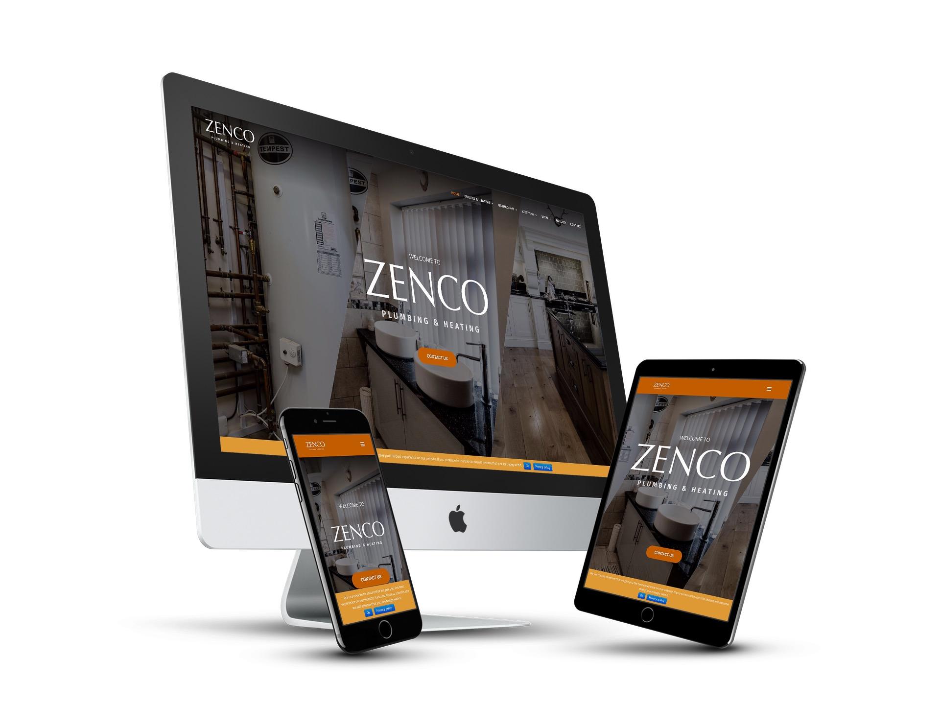 Zenco Website Design