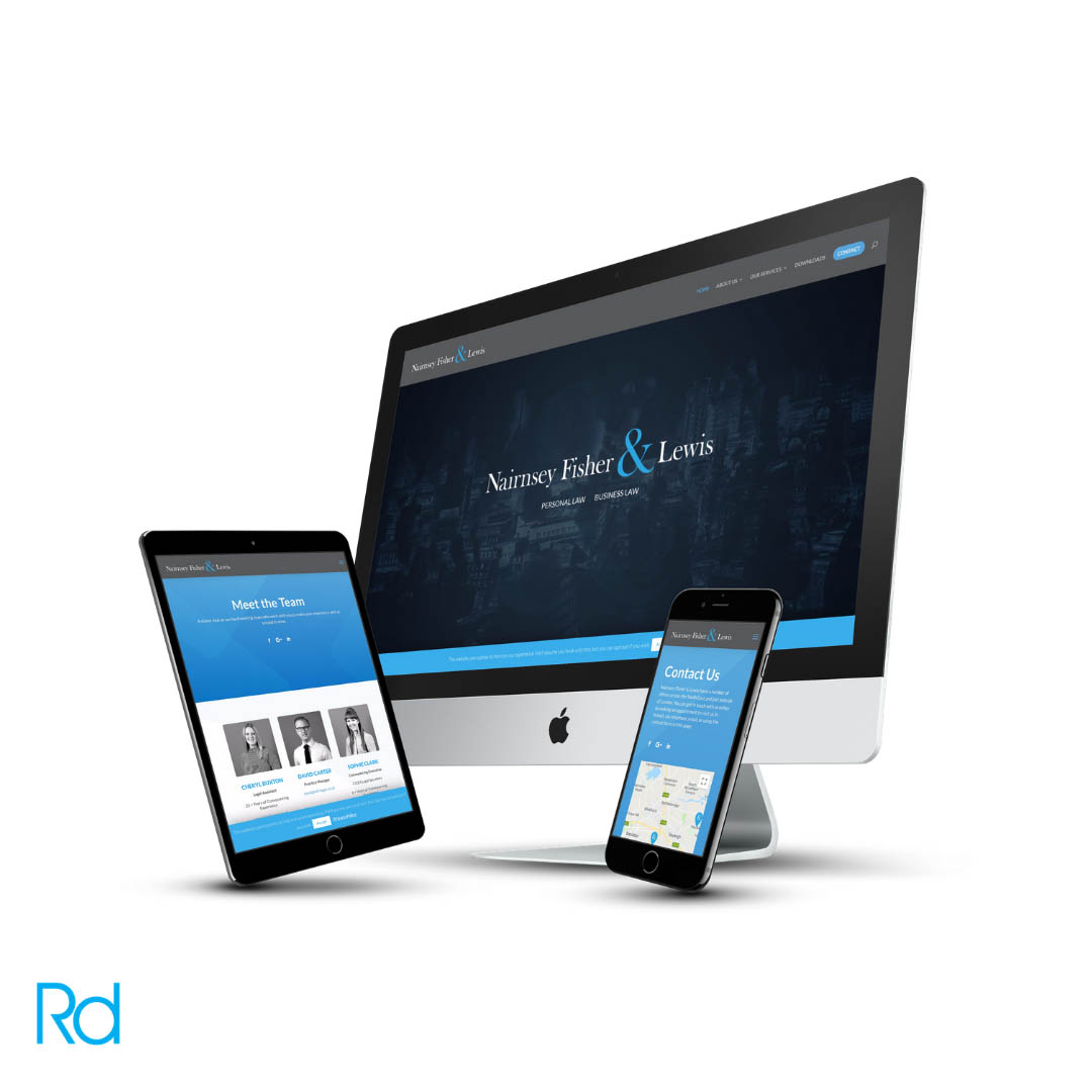 Nairney Fischer & Lewis Website Design