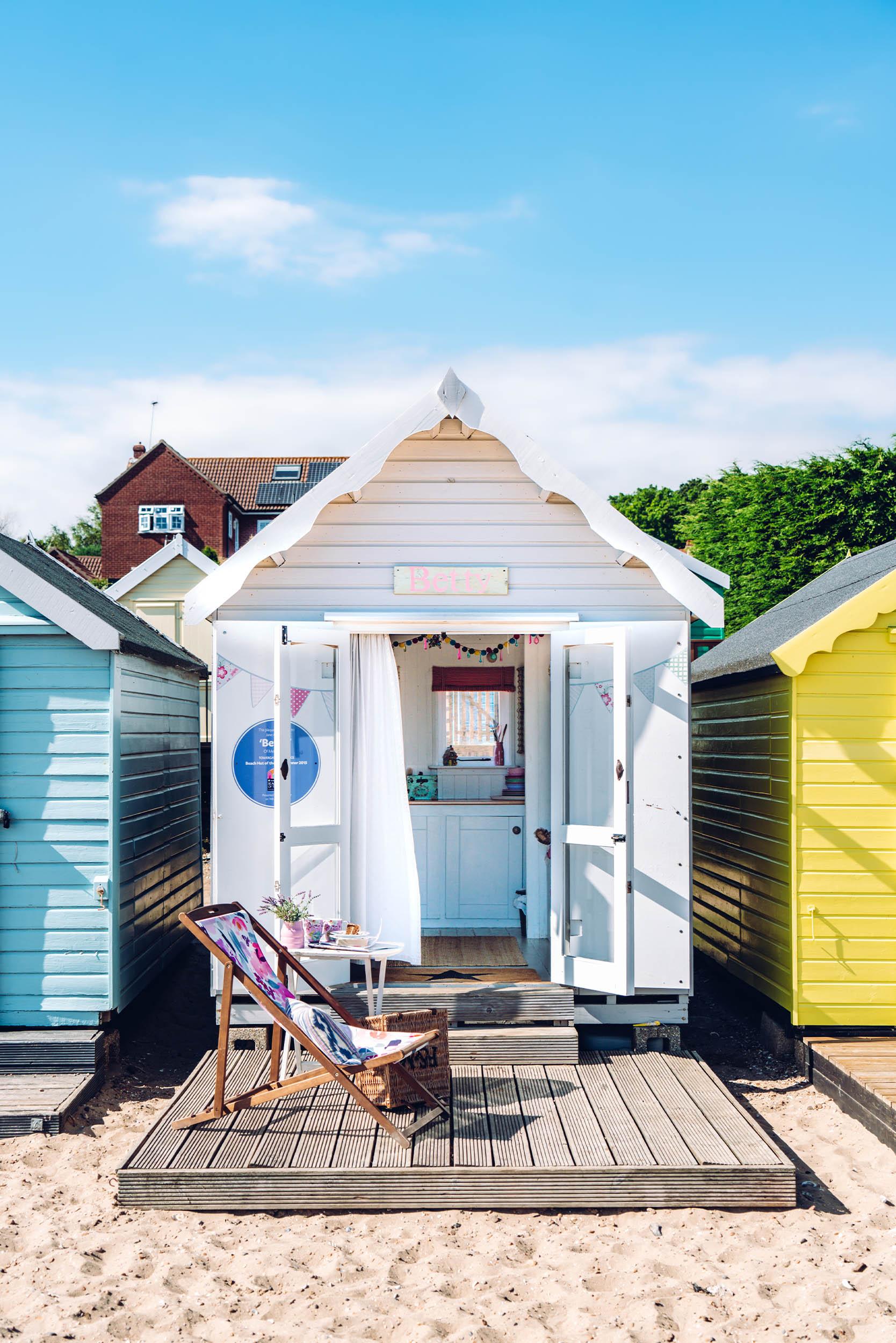 Betty is an award winning beach hut