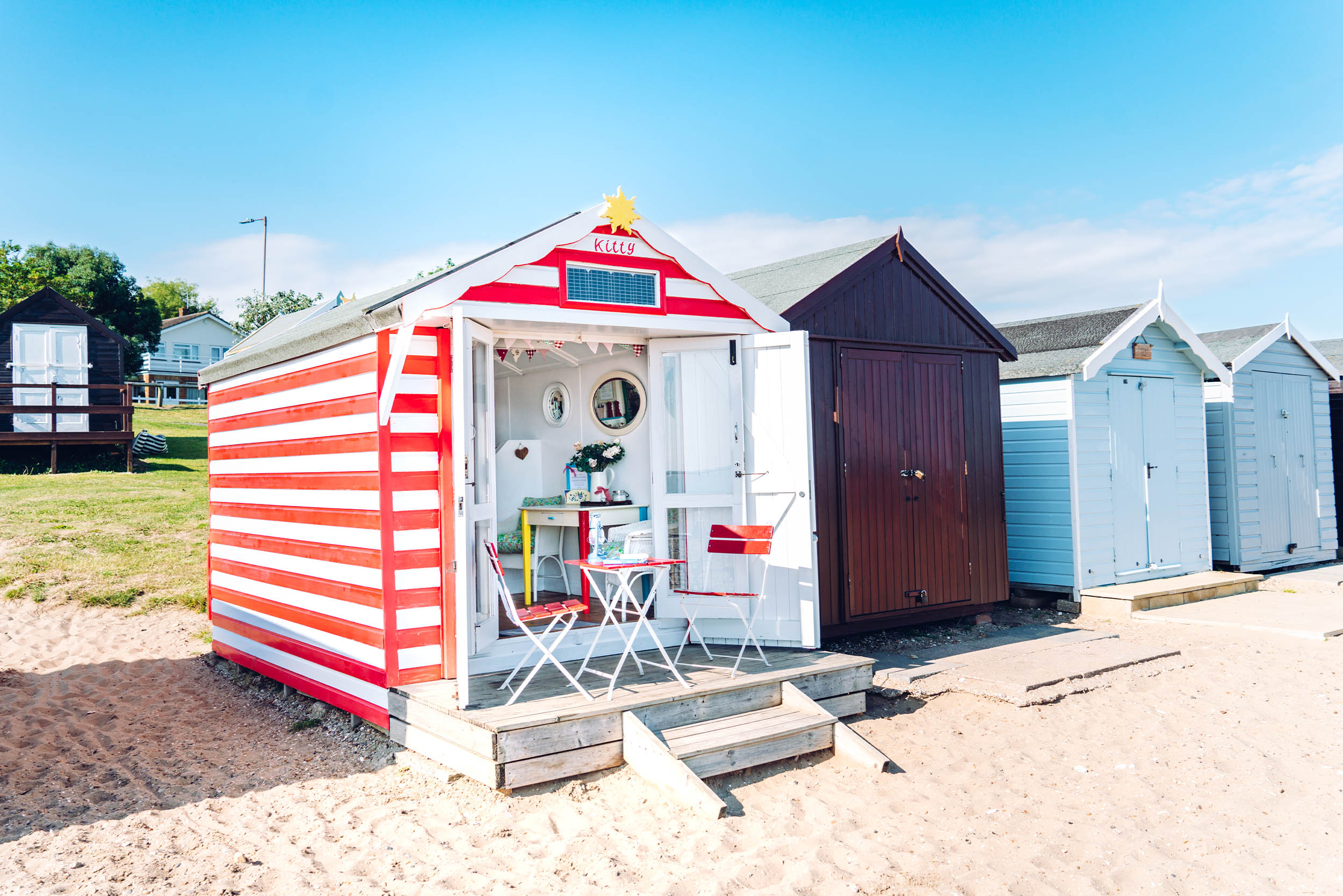 Kitty is a finalist in The Beach Hut of The Year Award 2017