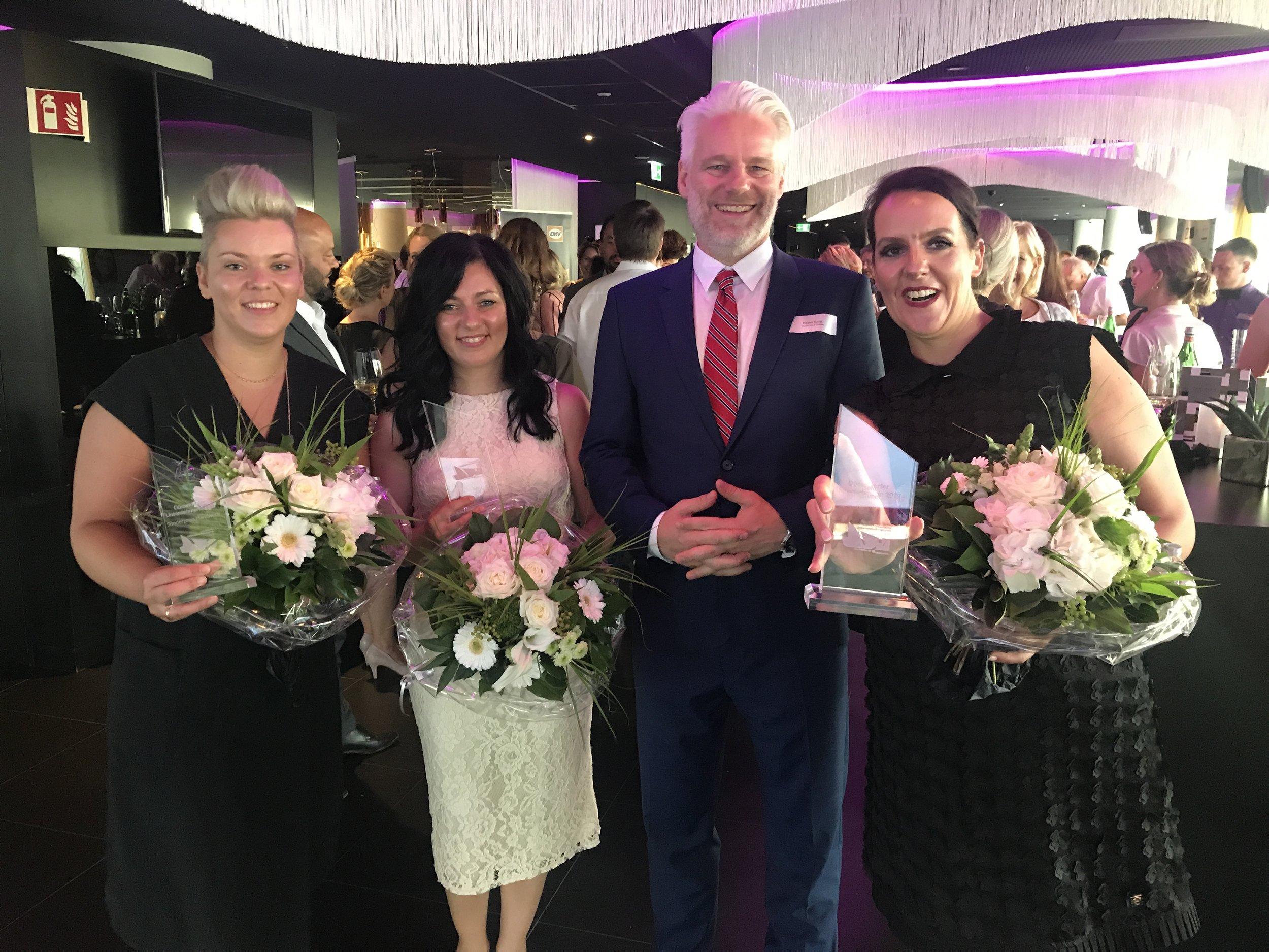 Laudatio für die Düsseldorfer Unternehmerinnen des Jahres 2017