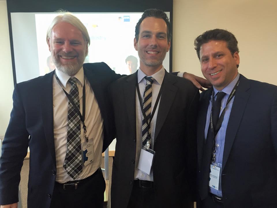 East Coast Industry Forum in New Jersey. Mit Daniel Meister (KuK NYC) und Teddy Goldstein (German Accelerator).