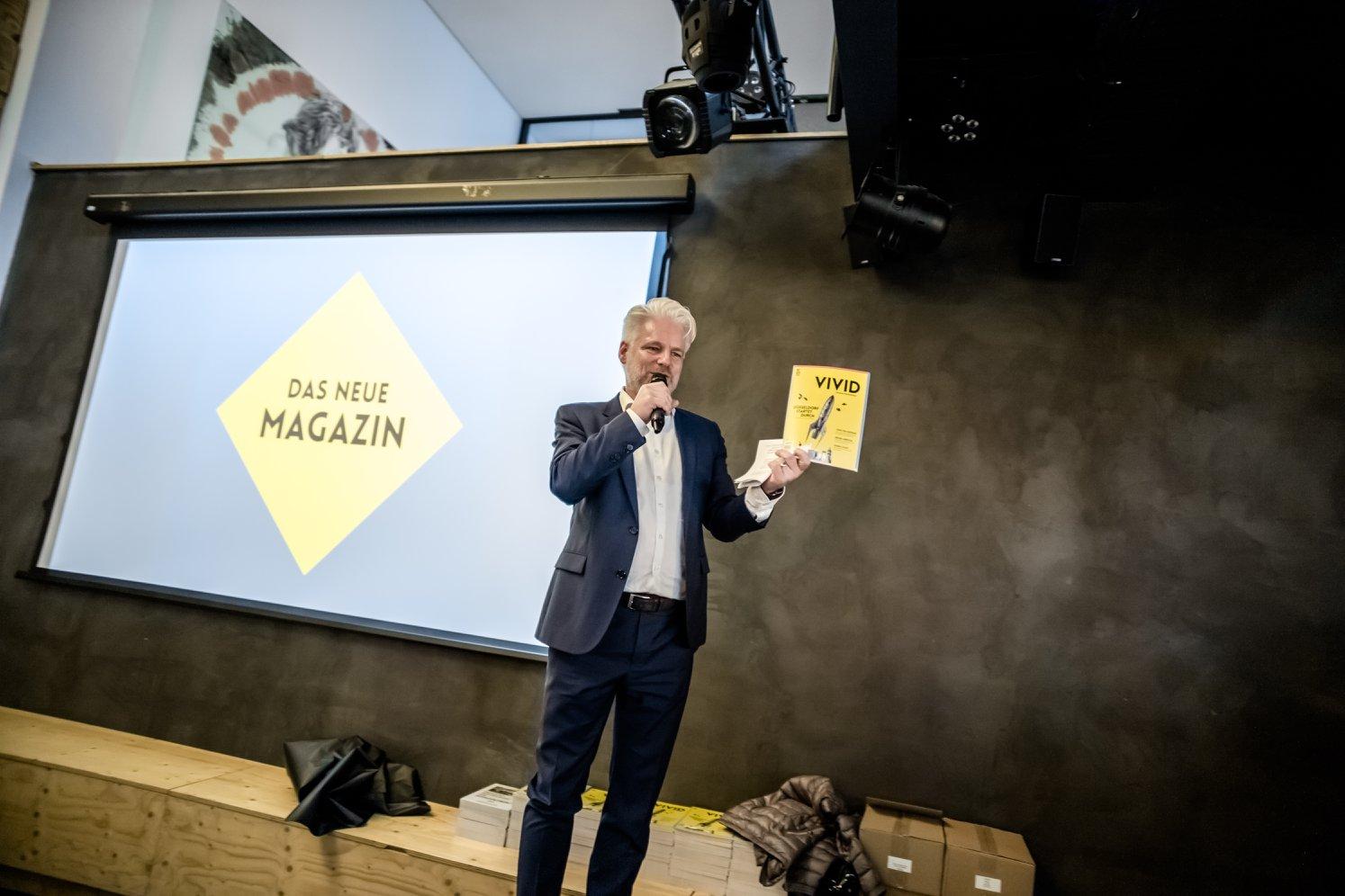 Launch des VIVID Magazins