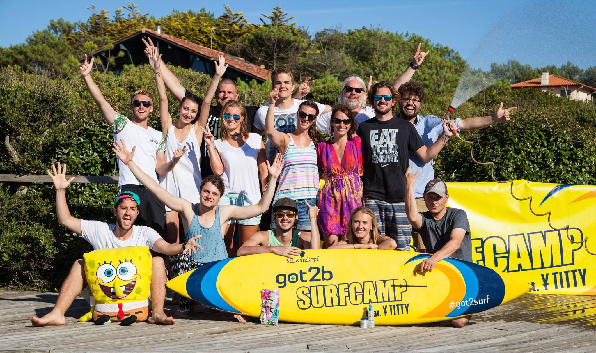 got2b-Surfcamp mit Y-Titty