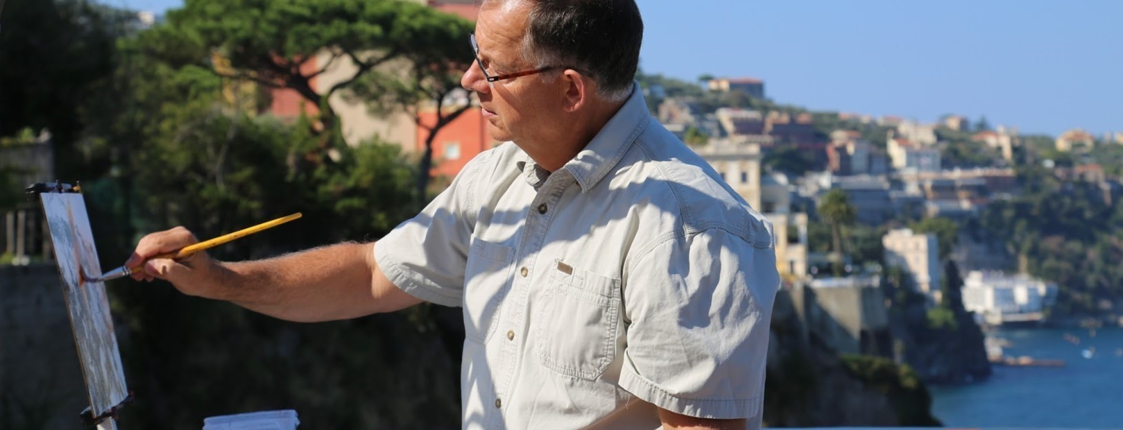 Mike Svob Painting in Italy.jpg