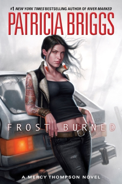 The Mercy Thompson series by Patricia Briggs is an urban fantasy series that features a kick ass heroine. Mercy is one of my fictional heroes, and Briggs is pretty awesome herself, living on a horse ranch and writing for a living.