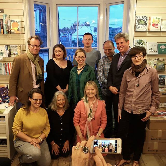 Fabulous #WordsOnWaves spoken word evening @harbourbooks last night. With Rosie Johnston, Live Canon & other fabulous poets. So much for my book-buying ban! I've been dipping into all the books I bought and I can't recommend them highly enough. Callum Beesley, I cannot wait to see your words in print.  With: Rosie Johnston, Mark Huband, Tessa Foley, Matt Chamberlain, Andrew George, Danne Jobin, N J Hynes, Callum Beesley, Helen Eastman & Gillie Robic)  #poetrycommunity #poetry #spokenword #spokenwordpoetry #livecanon #performancepoetry #poet #kent #poetsofinstagram #poetsofig #communityofpoets #poetsandwriters #poetslife