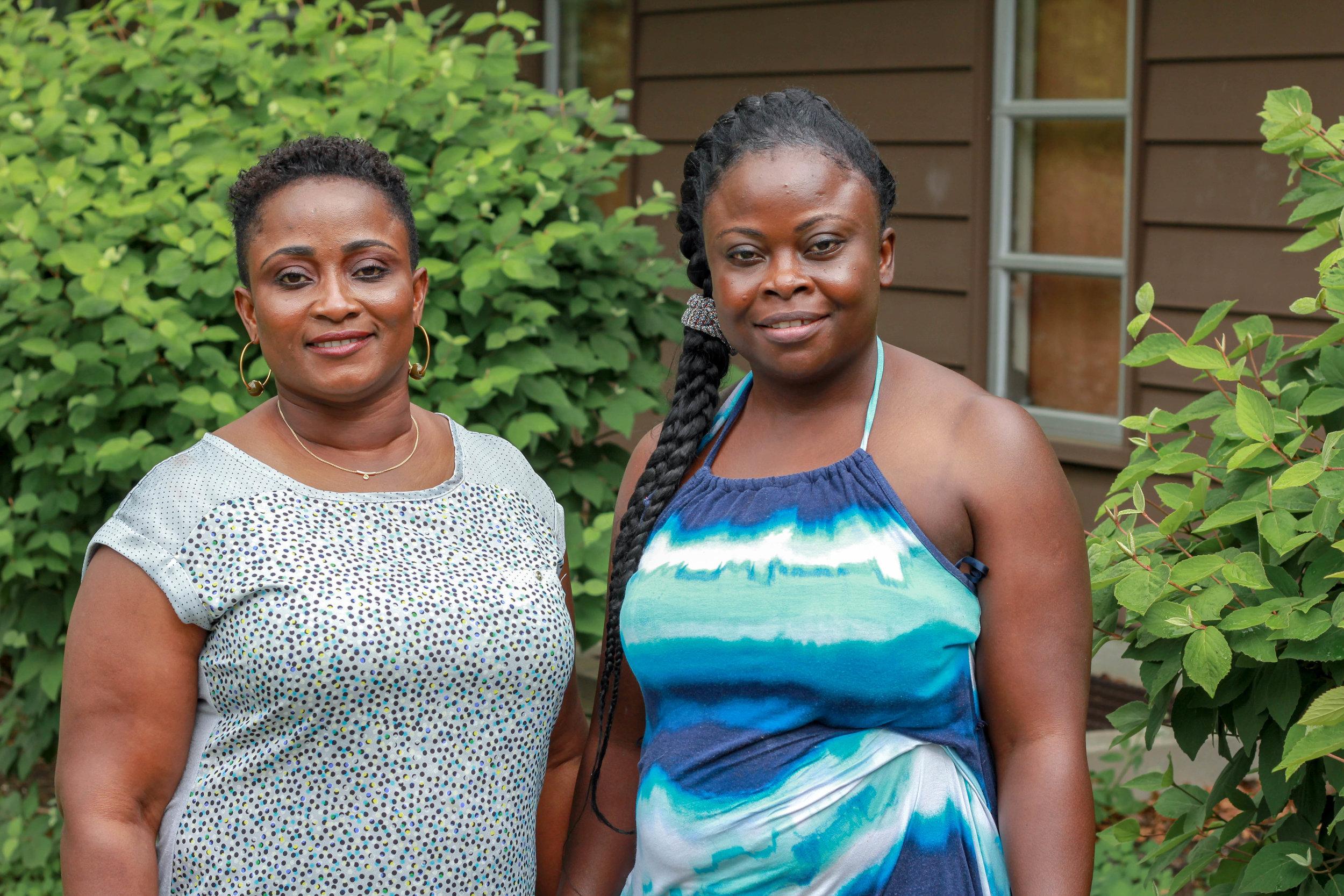 Esther Boakye and Augustina Afrakoma, Ghana
