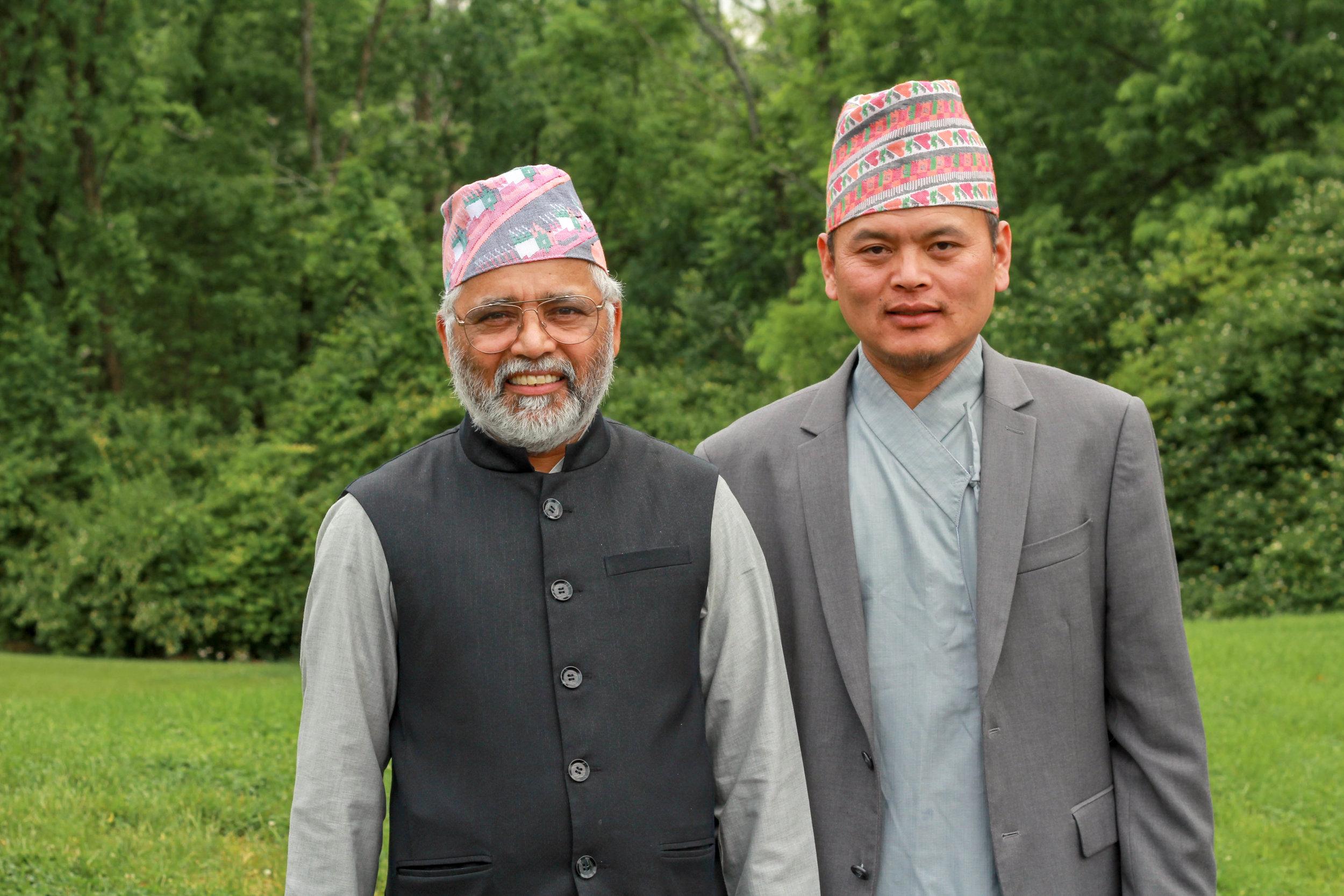 Krishna Bhandari and Khadka Magar, Nepal