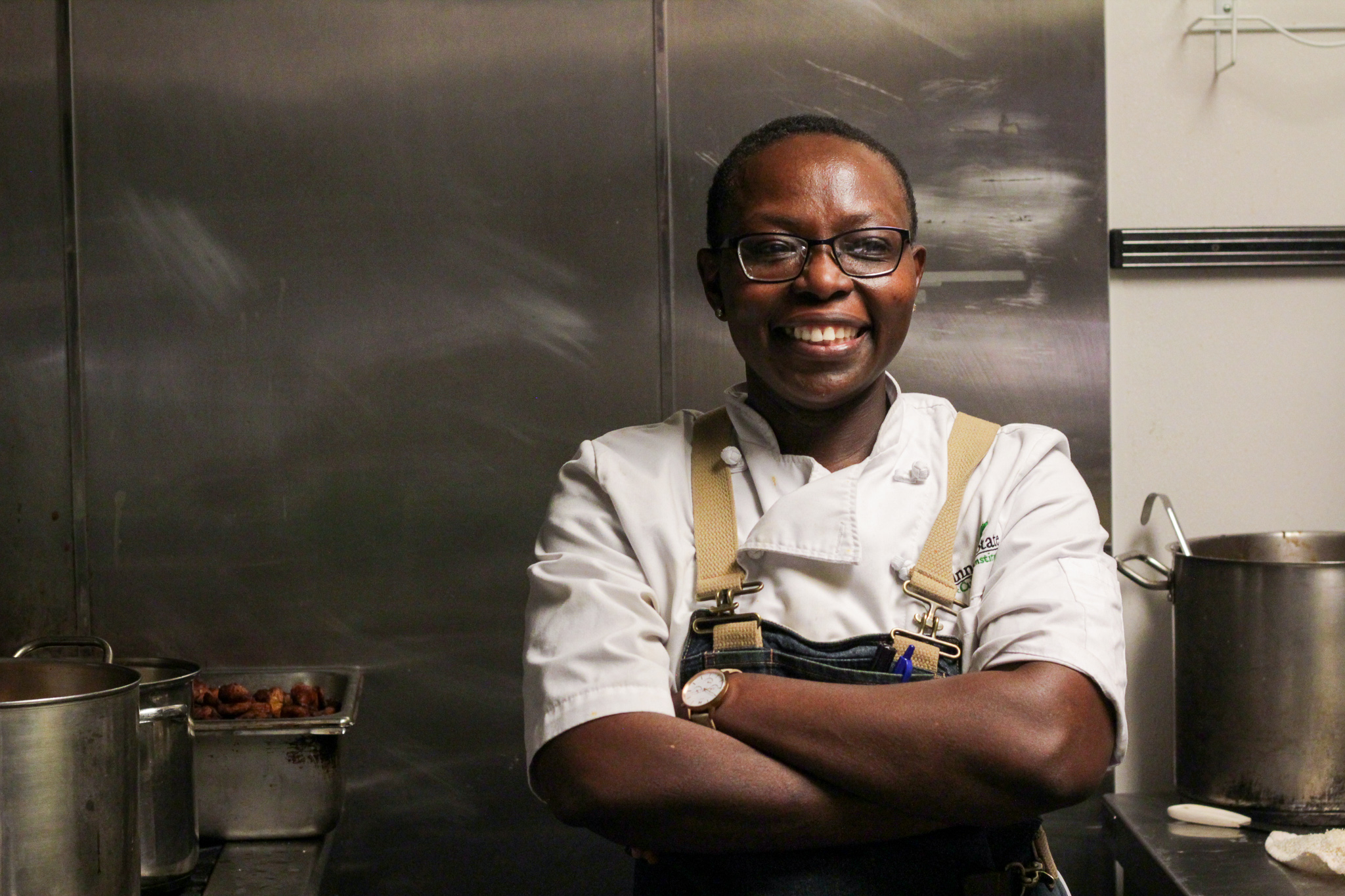 "Manzara Reed, Ivory Coast  ""I enjoy cooking because cooking always brings people together"""