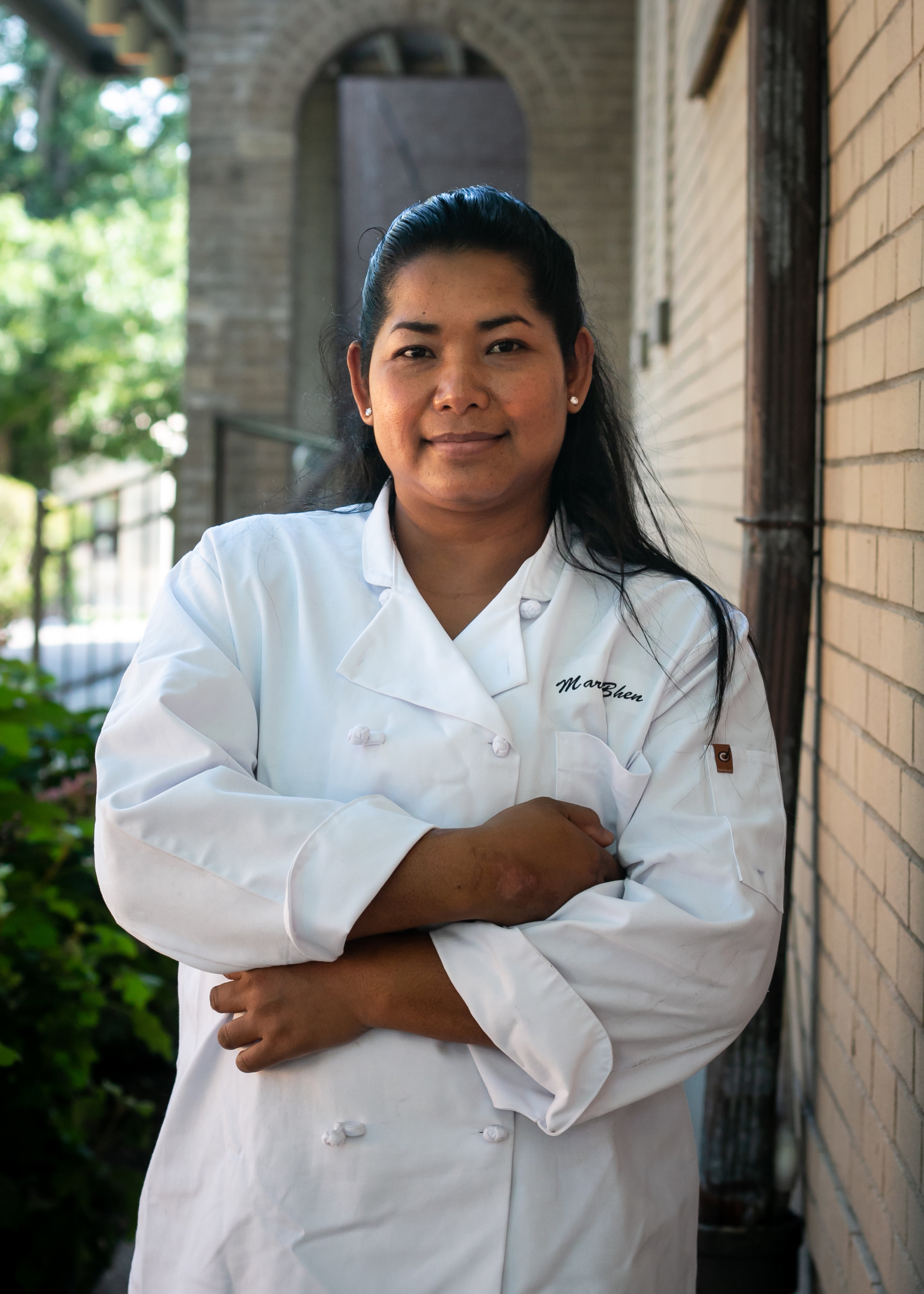 Maria Bhen, Cambodia  Maria Bhen left her homeland of Cambodia 10 years ago and settled in the United States. She just recently graduated from a local culinary program here in Cincinnati and if tastebuds are any measure, look for her and her Cambodian cuisine to stick around.