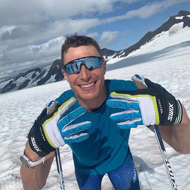 Last glacier camp of the year ✔️ On to the next. #backroadtobeijing • #glacier #ski #smile #getoutside #nature #training #motivation #summer #adventure #outdoors #mountains #beauty #bloodsweatanddata #polarvantagem #timetoplay