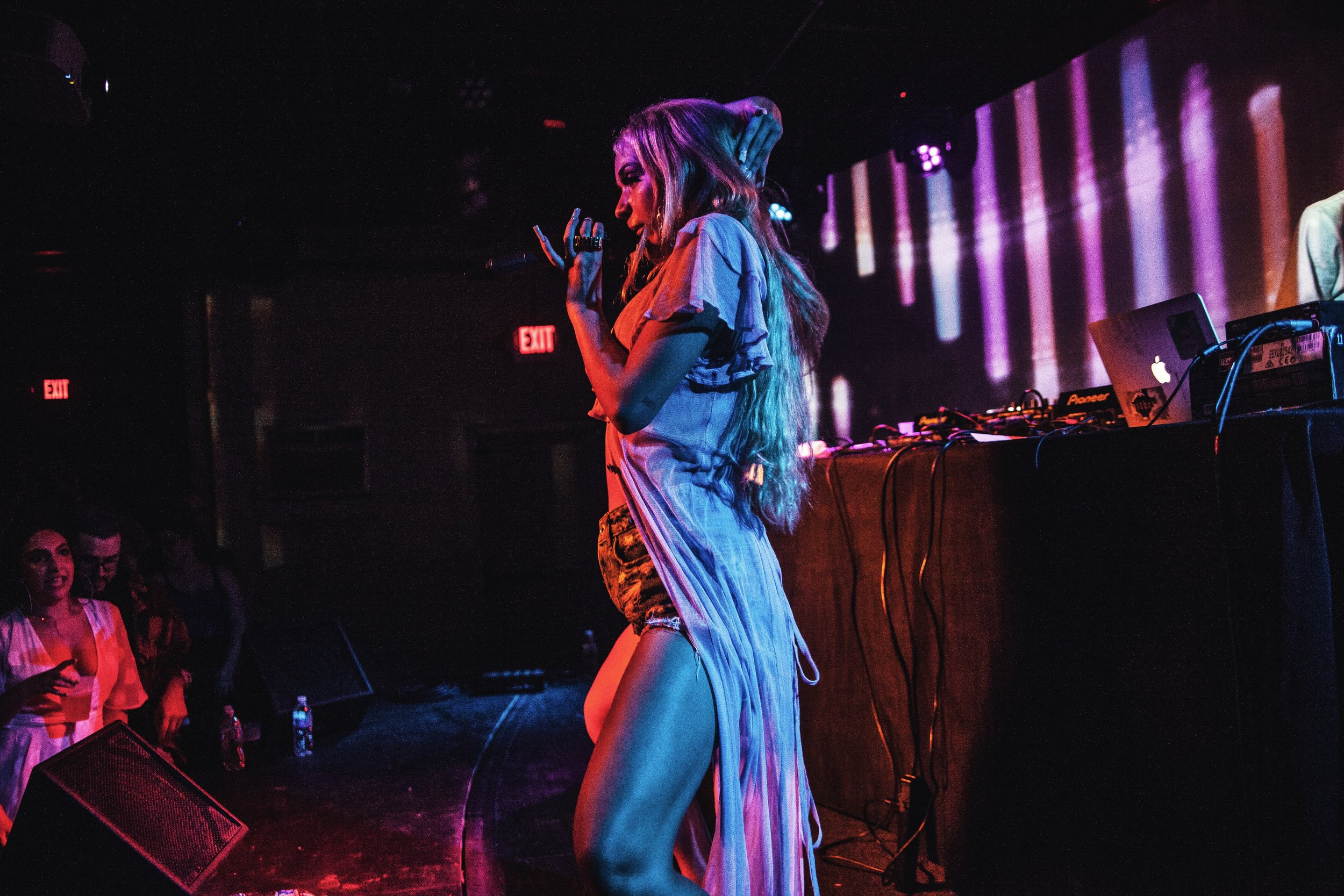 Bad Gyal performing at Empire Control Room in Austin, TX. Photo by Nathan Gibbs.