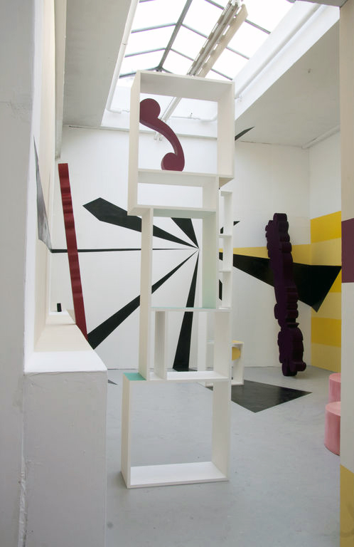 Installation Photo 2013 . Mixed media. Dimensions Variable