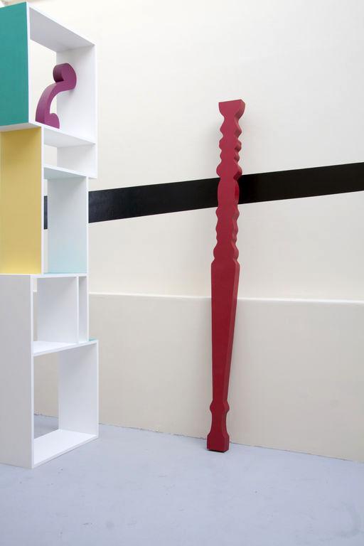 Candy Says 2013 . MDF, foam, paint. 240cm x 20cm x 15cm