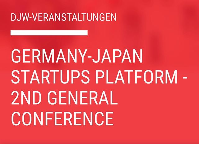 "Final countdown in Berlin, where Germany-Japan Startups Platform - 2nd General conference is about to start. Check Panel II: ""Innovation Drivers in Japan and Germany: Some Best Practices of Successful Cooperation and how to shift from Vision to Reality"", where Peter Boras will share his experience on how Hi-tech #Robotics company #RoboticsXGermany and Corporation #Yaskawa will shape global Innovations. https://goo.gl/nYdo5N"