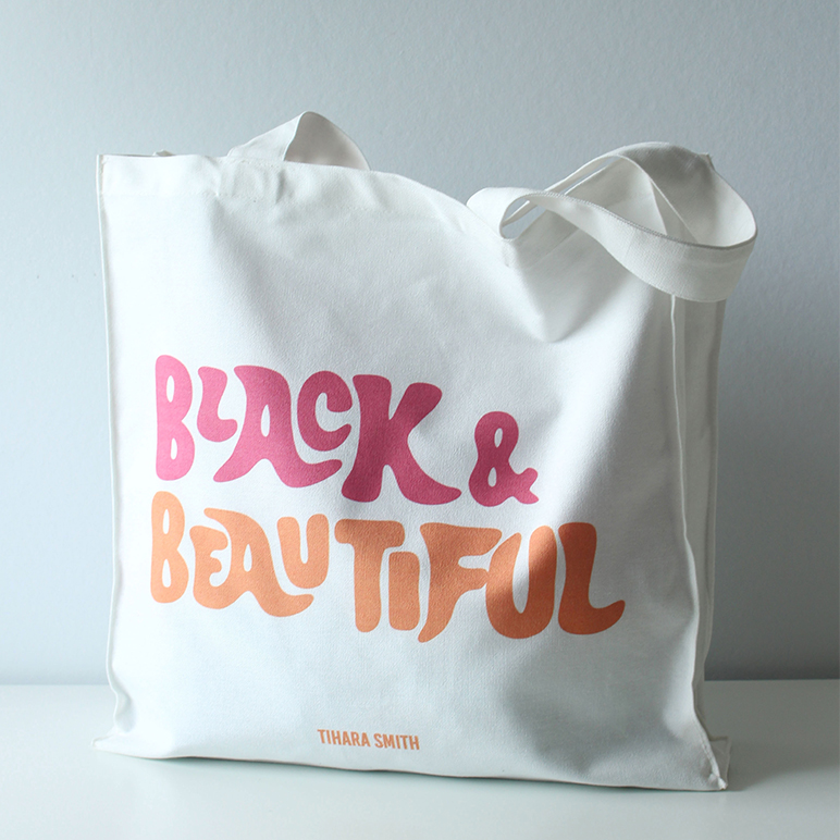 Black and Beautiful Tote Bag.jpg