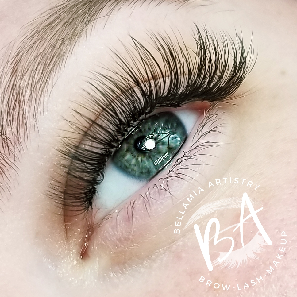 Volume Lashes - Volume Lash Full Set - $185Volume Fill (70 minutes) - $75Volume Fill Extended (95 minutes) - $100Ombre Volume Full Set - $200Volume Lashing is a technique used to achieve a fuller, fluffier look. With this method, anywhere between 2-5 super fine extensions are fanned out and applied to a single natural lash. This is the perfect solution if you have sparse lashes or gaps.Volume lashes are perfect for:- Clients who have fine, weak, or sparse lashes-Clients who have thick natural lashes, but enjoy the look of strip lashes- Clients who want more fullness to their lash look