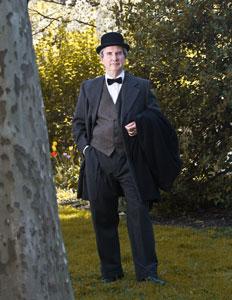 John Wanamaker Portrayed by Bob Gleason -