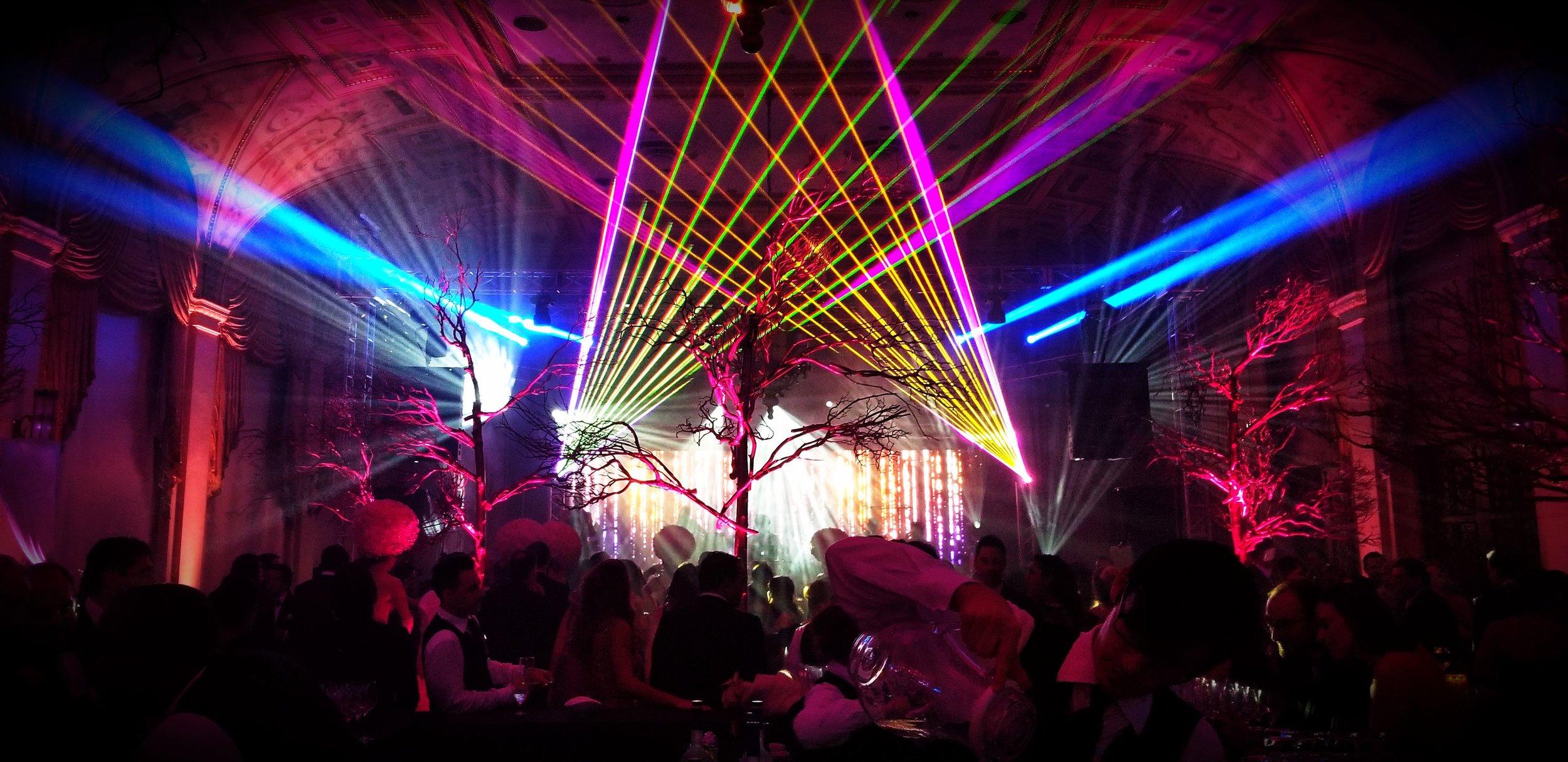 Laser-Lit After Parties -