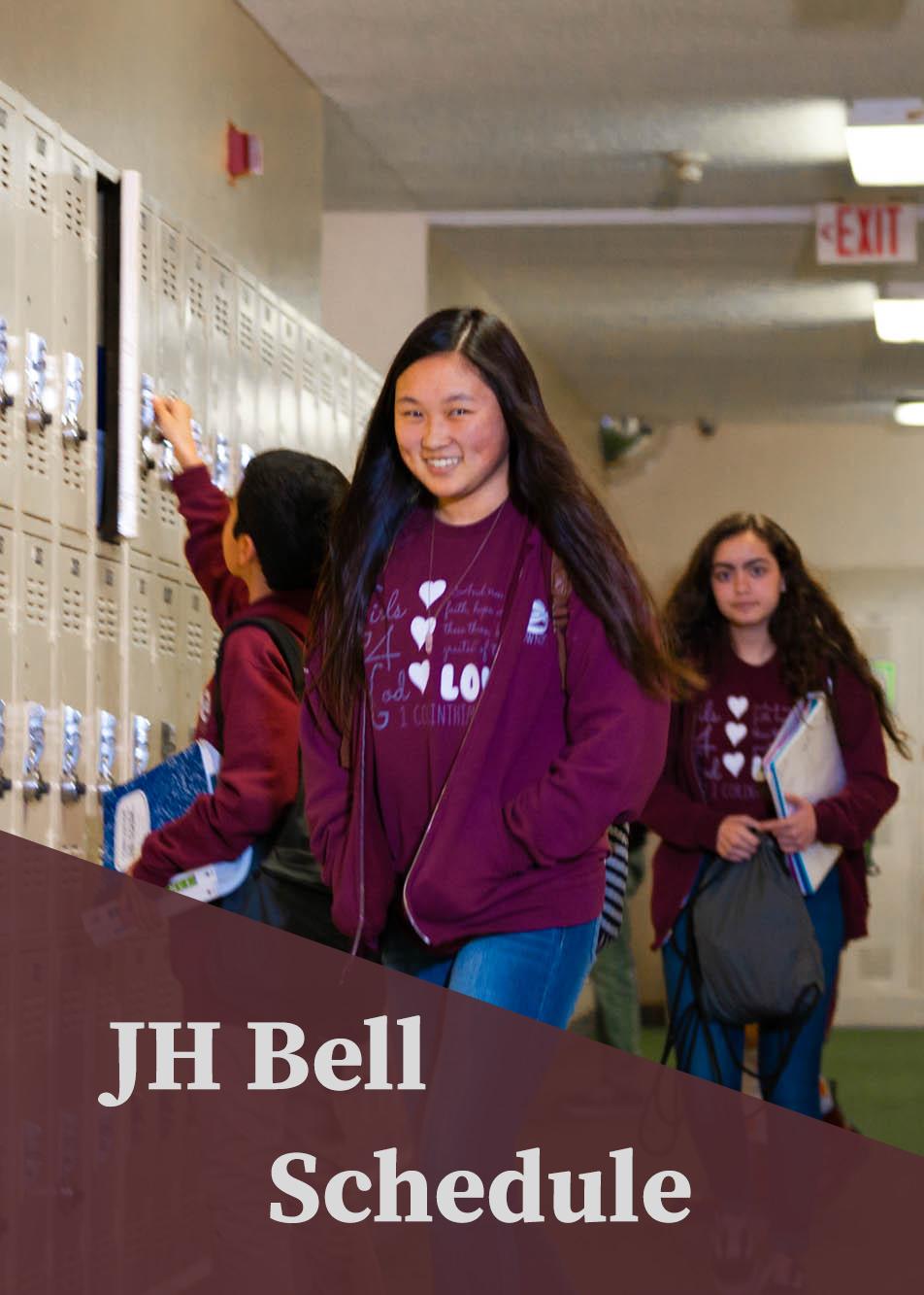 JH Bell Schedule