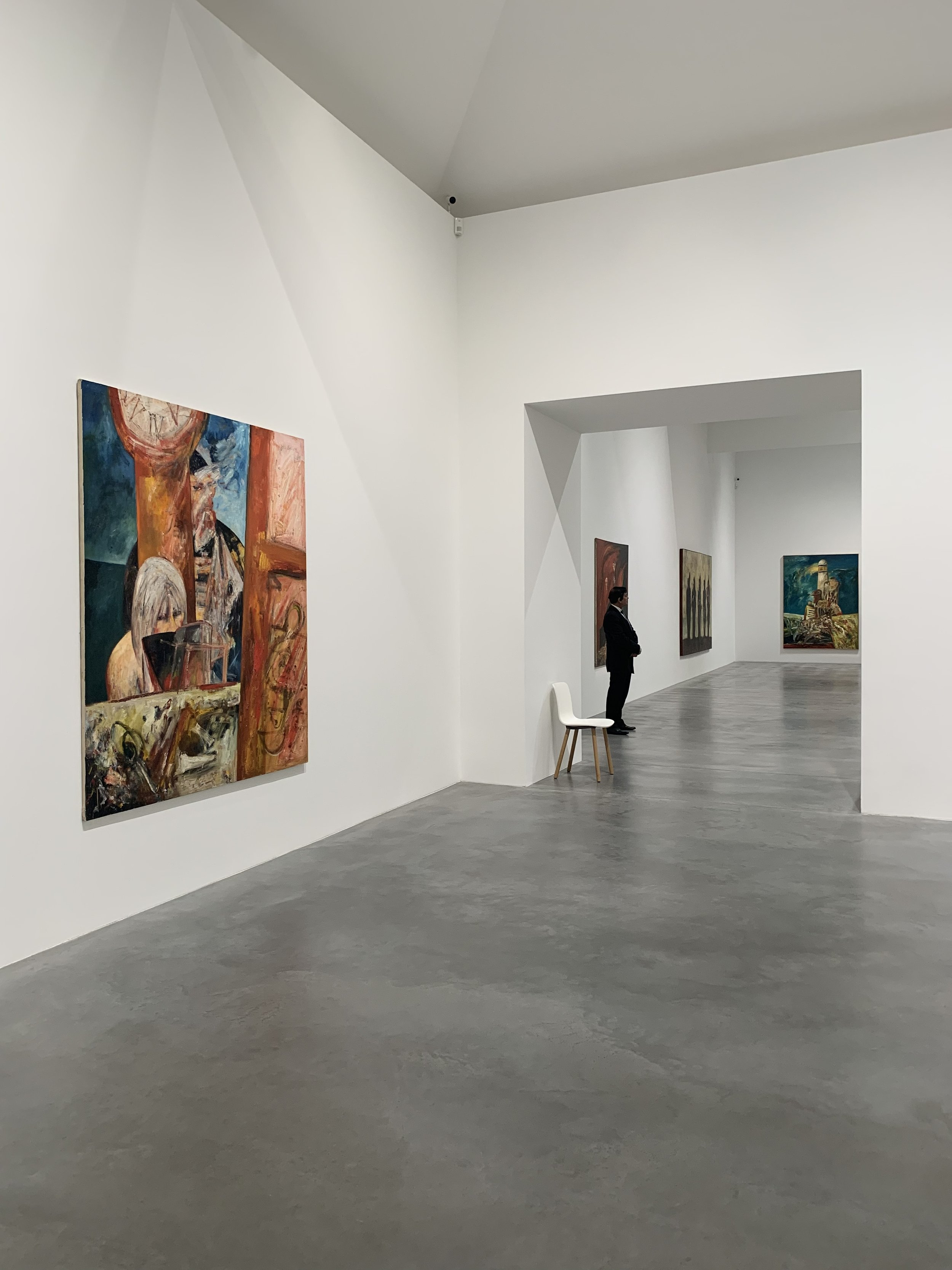 Installation shot of 'Cradle of Magic' at Newport street gallery.