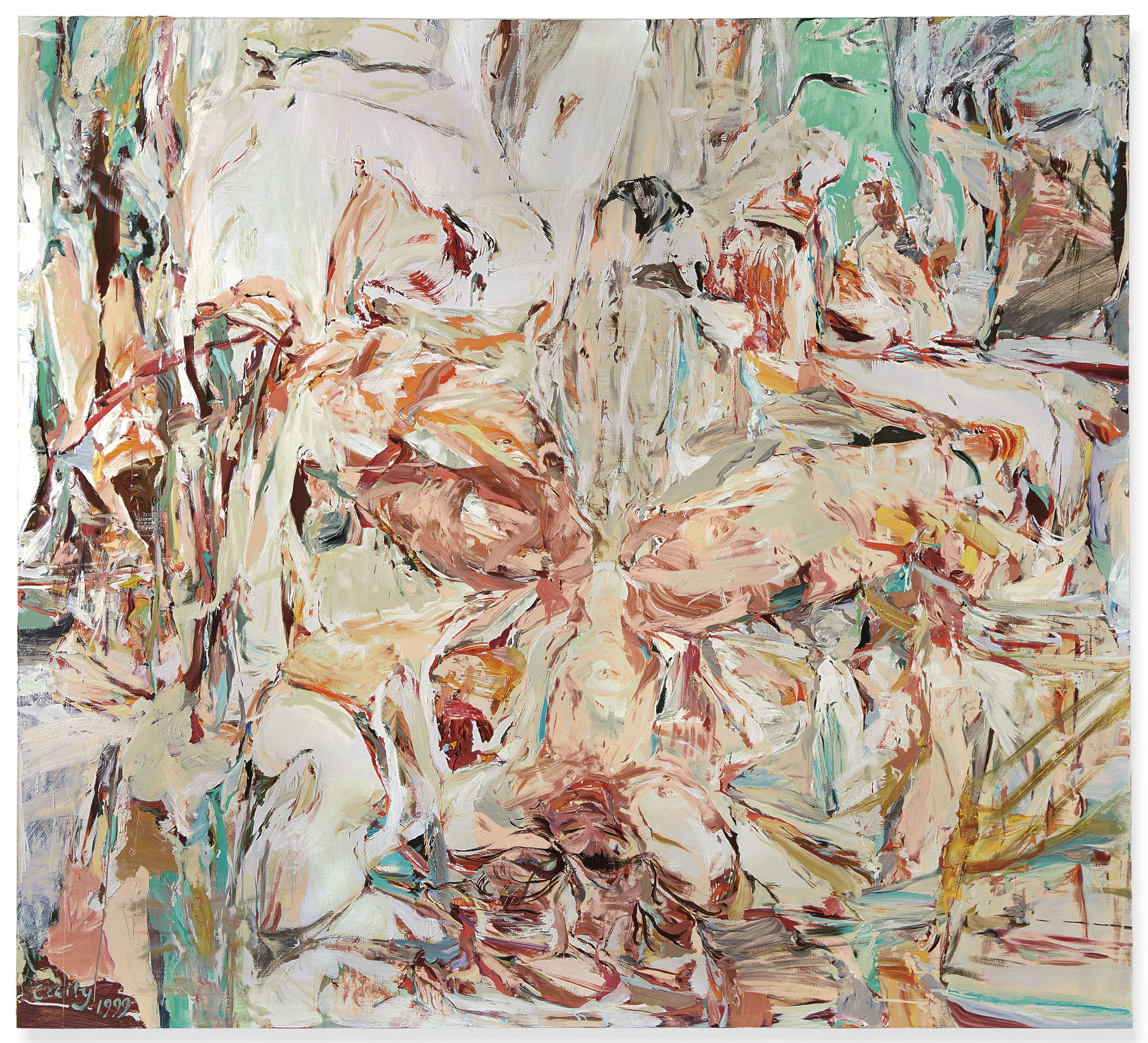 Cecily Brown,  Night Passage,  1999