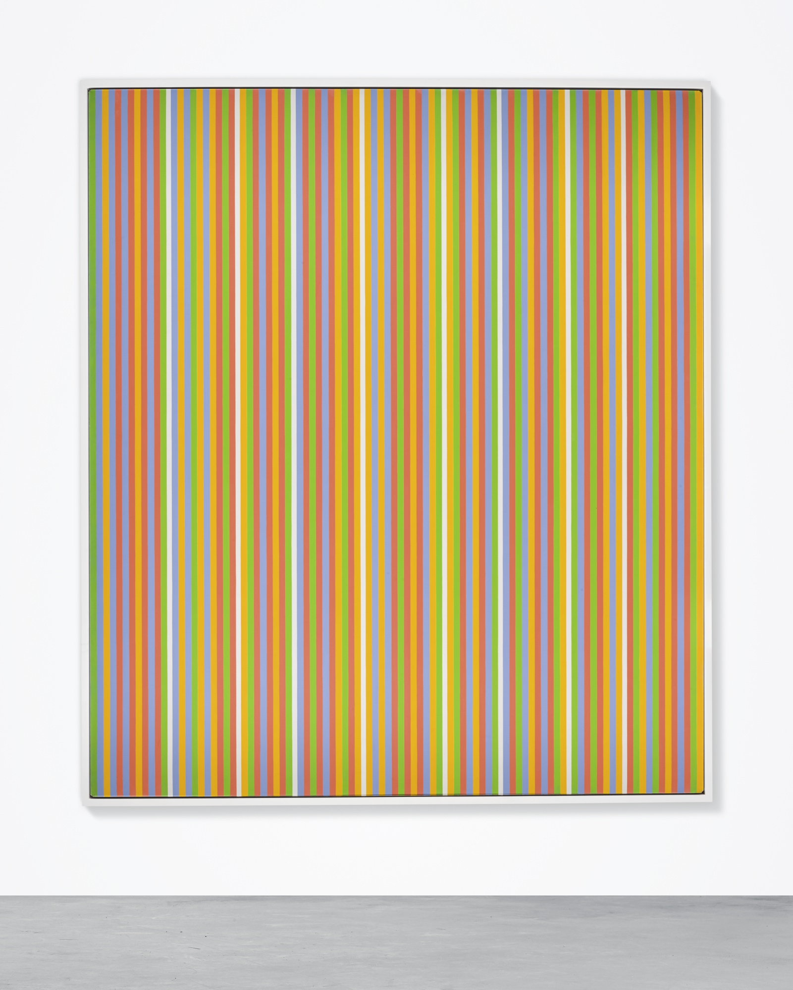 Bridget Riley,  Midi,  1983. Courtesy of Sotheby's.