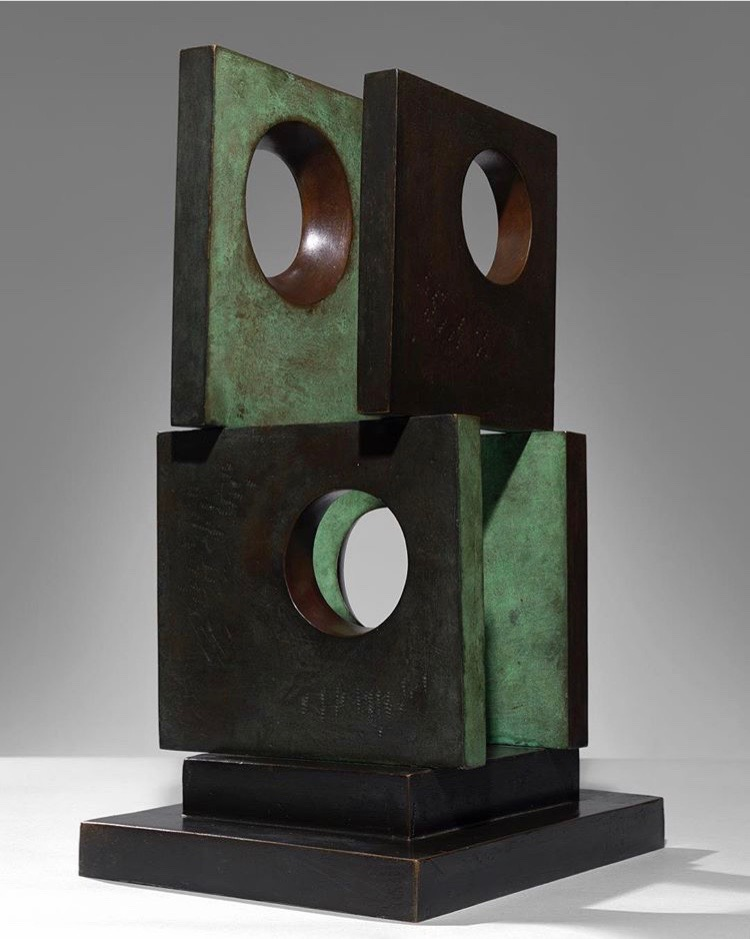 Barbara Hepworth,  Four-Square (Four Circles),  1966.