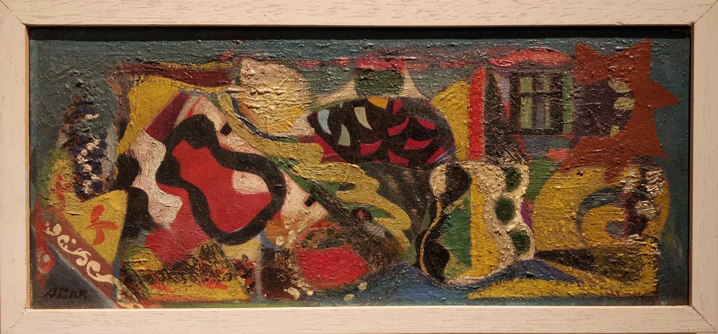 Eileen Agar, Np. 18 Musical Garden, 1947. Oil on Canvas