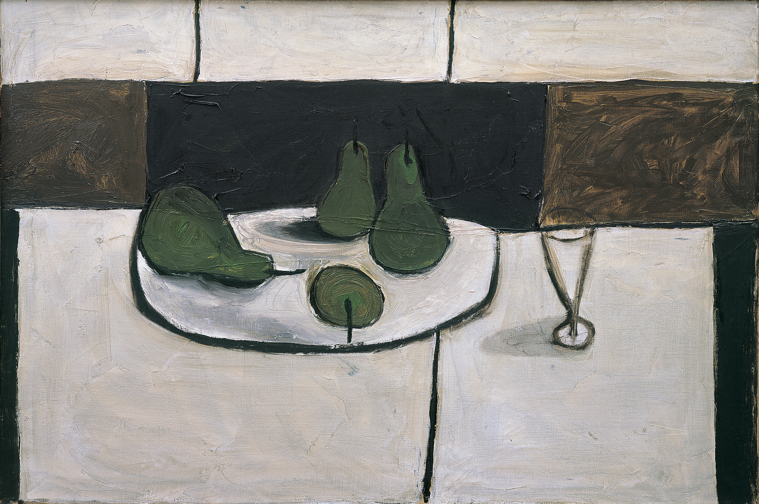 William Scott (1913-1989)   Still Life , Oil on canvas, 61 x 91.5 cm