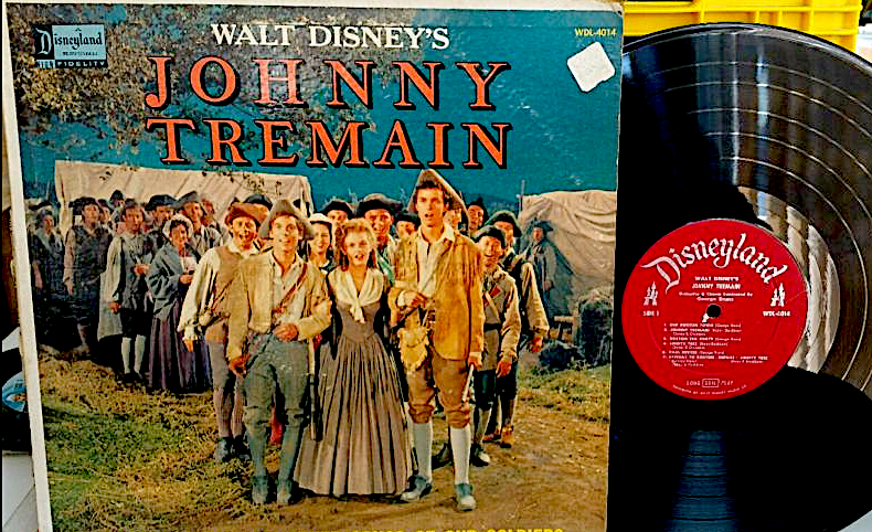 The original 1957 Disneyland Records LP