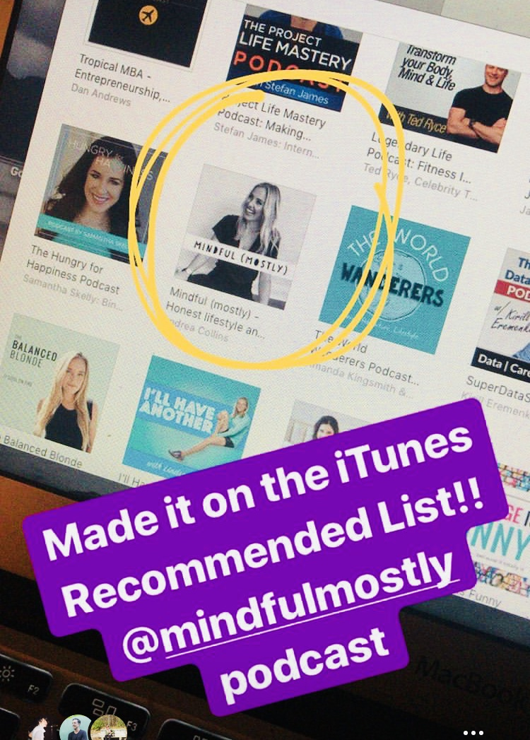 When iTunes put us on their MOST recommended list. - Champagne was copiously consumed.