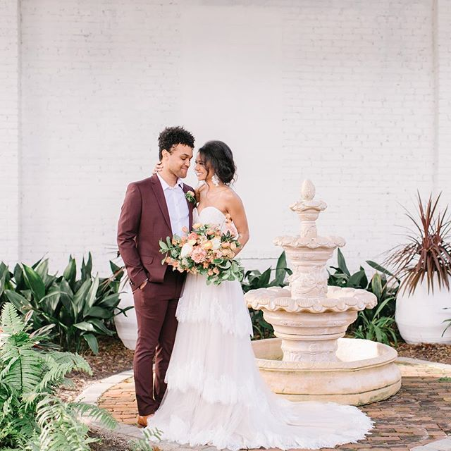 We're so excited to have been a part of this beautiful shoot, with some really fabulous vendors! ✨And did I mention its featured on @stylemepretty 💗 Great job ladies! 👏 👏 . . . . . VENUE: @elliesgardenjax  HAMU: @__jrowe__  WWEDDING GOWN: @lovebridalboutique  DRESS DESIGNER: @jacksullivandesigns  GROOMS ATTIRE: @nextofficial INVITES: @pco_designstudio  LETTERPRESS: @mc_pressure PHOTOGRAPHER: @nataliebroachphotography MODELS: @_ninadubois + @devantemcroy JEWELRY: @a.b.ellie