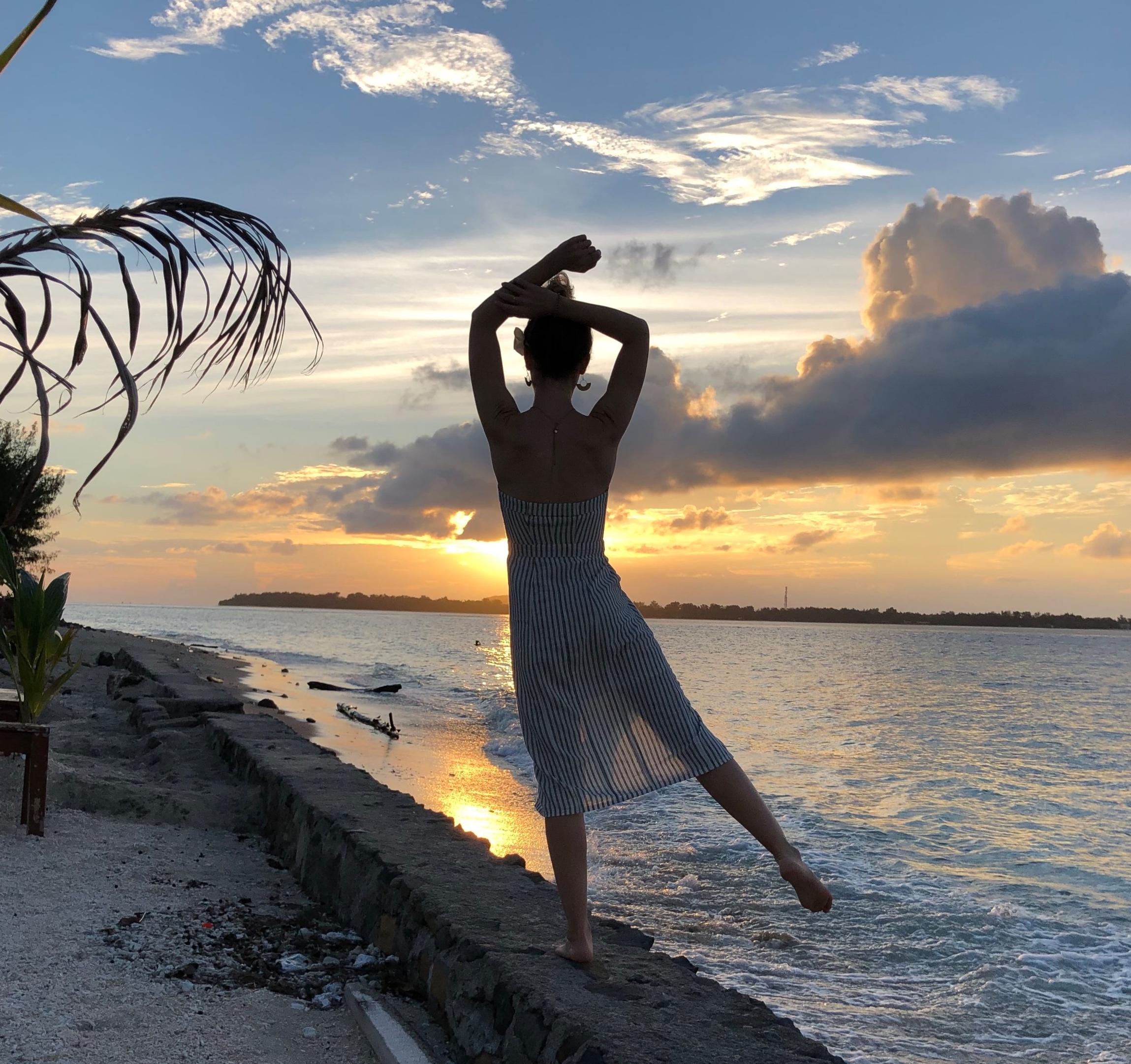 Bali+sunset