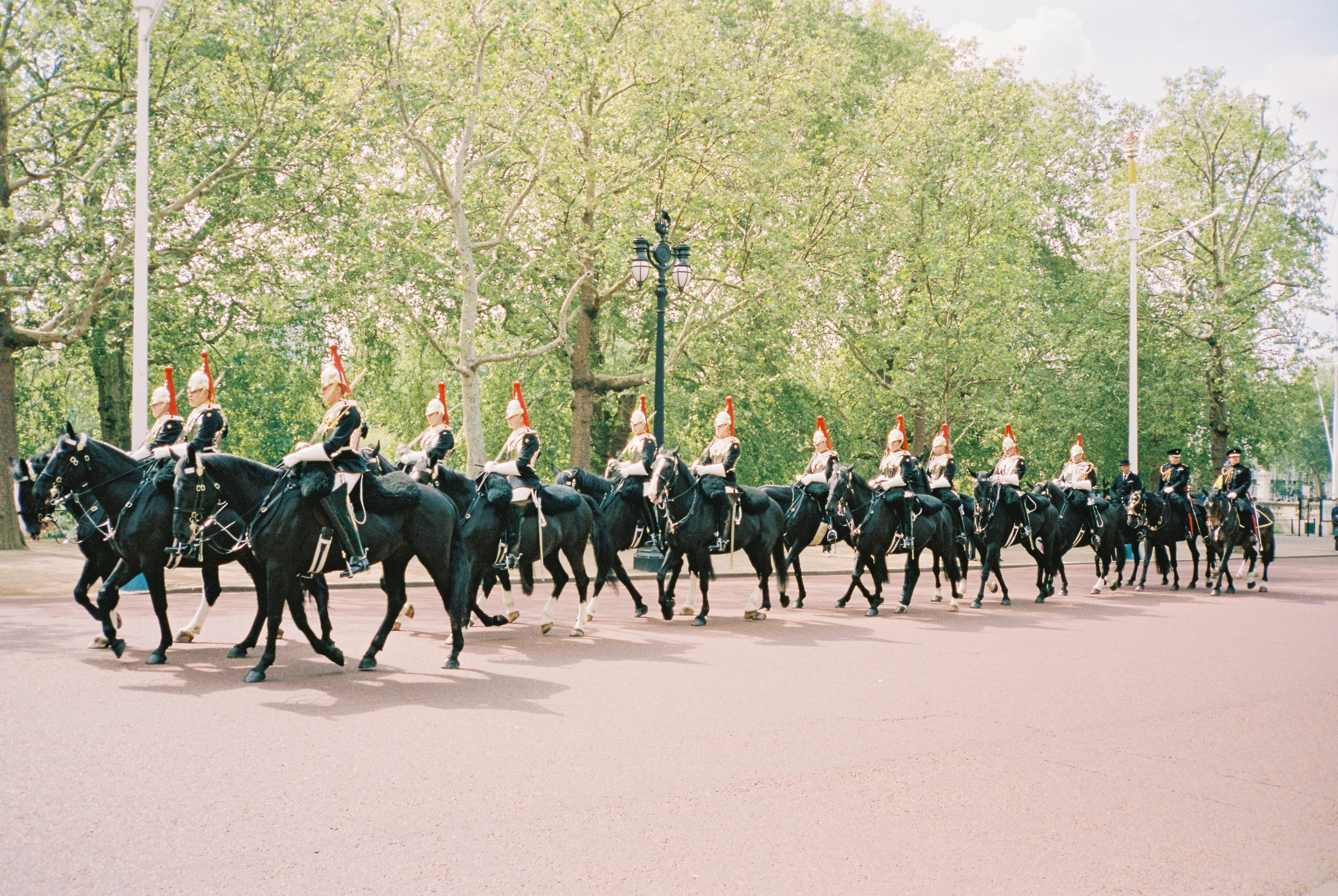Buckingham Palace | Contax T3 + Portra 400. Scanned on Fuji Frontier SP3000.