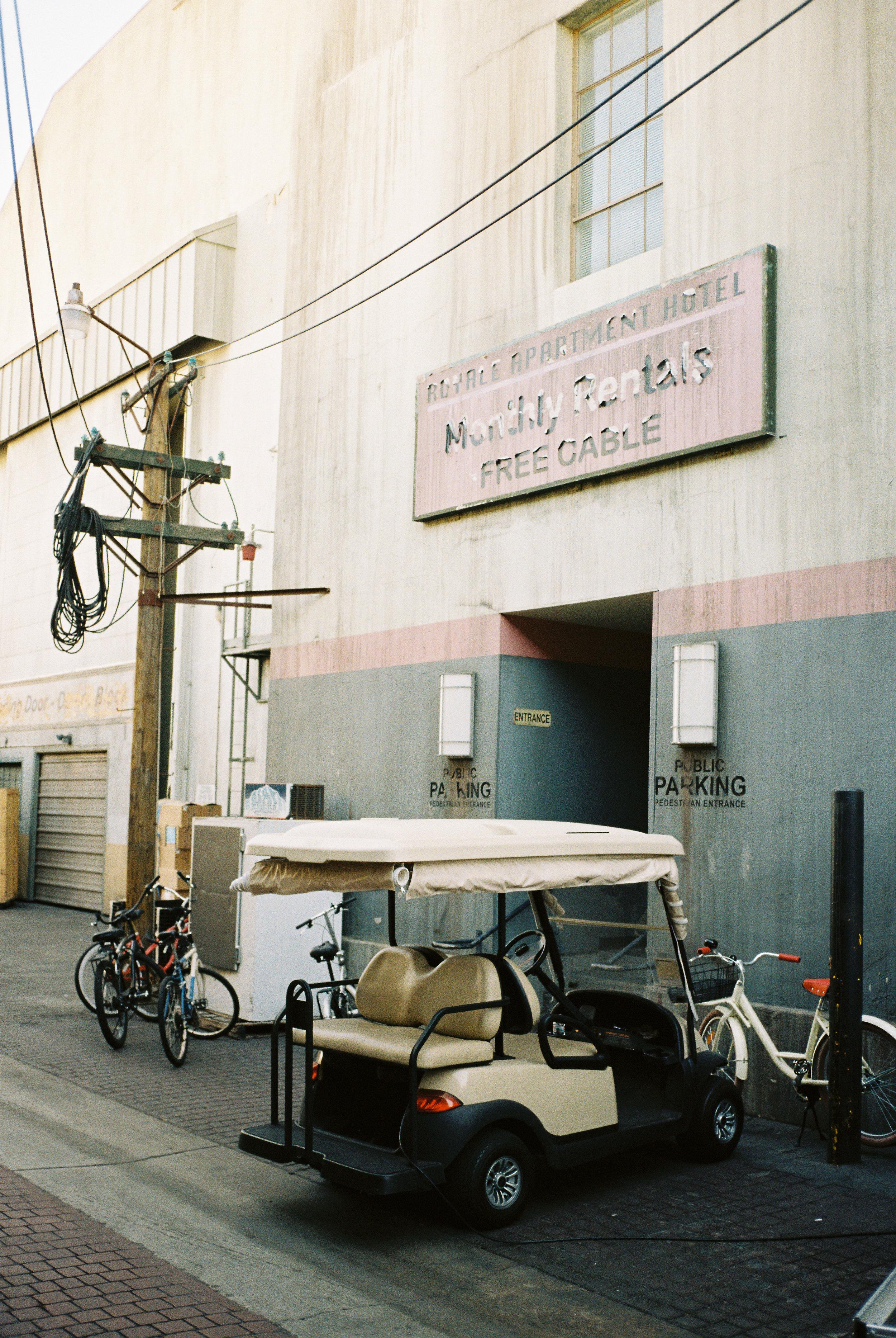 Warner Brothers Studios backlot, LA Contax T3 Kodak Pro Image 100