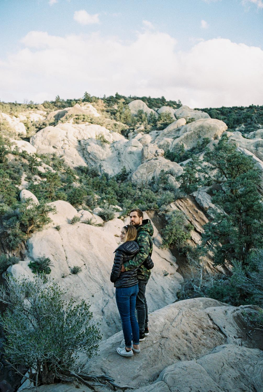 Devil's Punchbowl, California Hexar AF Kodak Pro Image 100