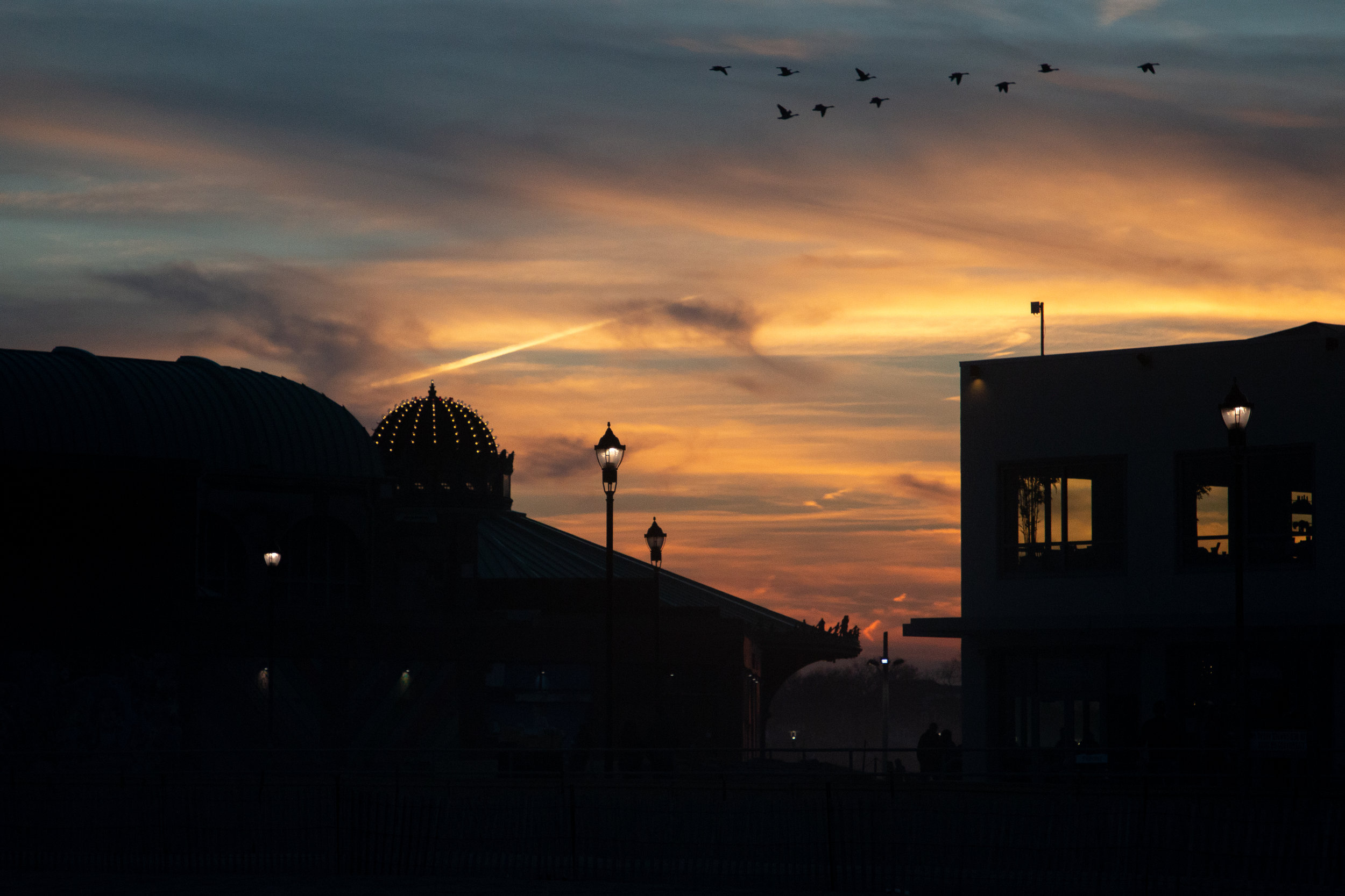 Sunset in Asbury Park, New Jersey. Photo by Kayleigh Ann Archbold.