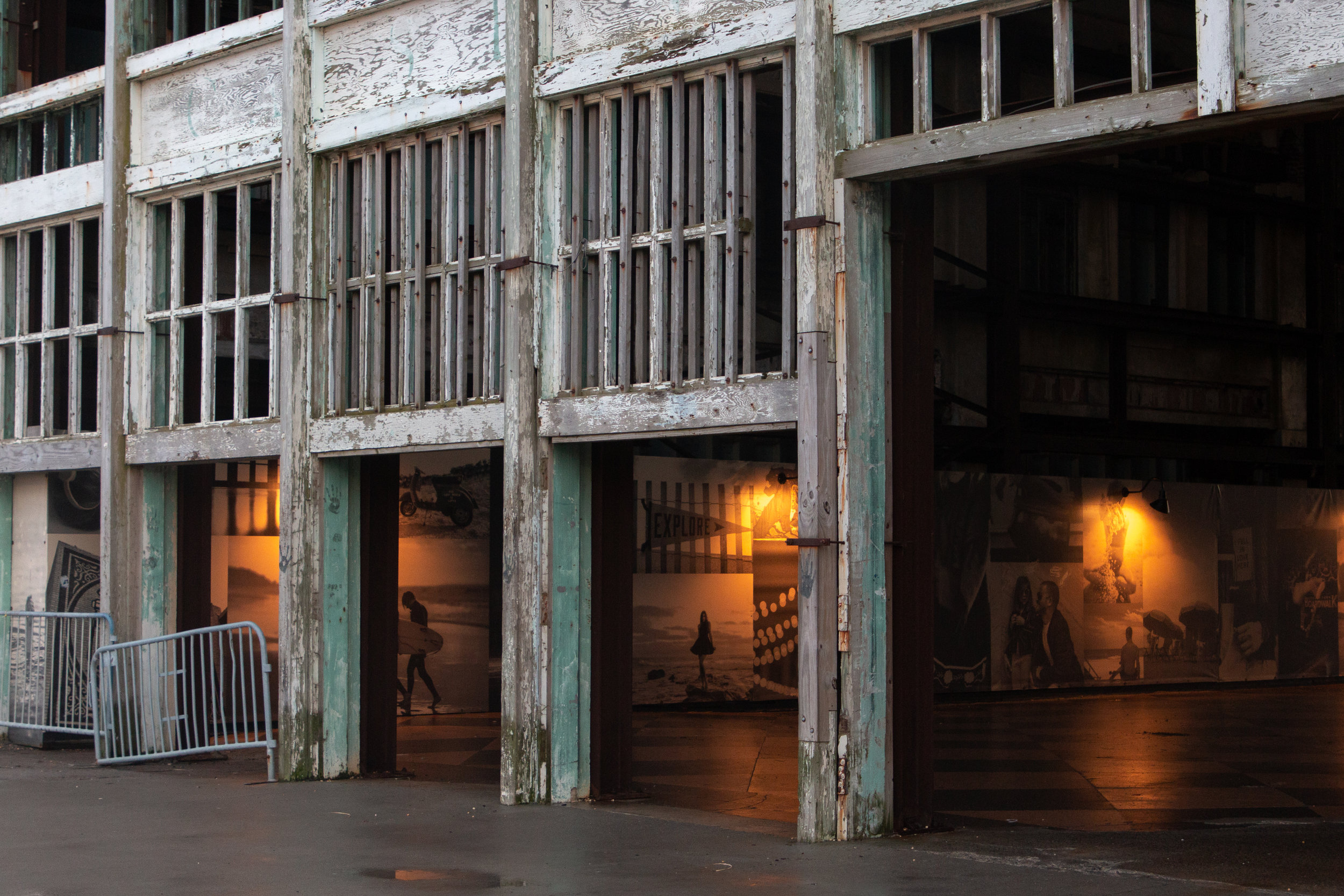 old abandoned building in Asbury Park, New Jersey. Photo by Kayleigh Ann Archbold.