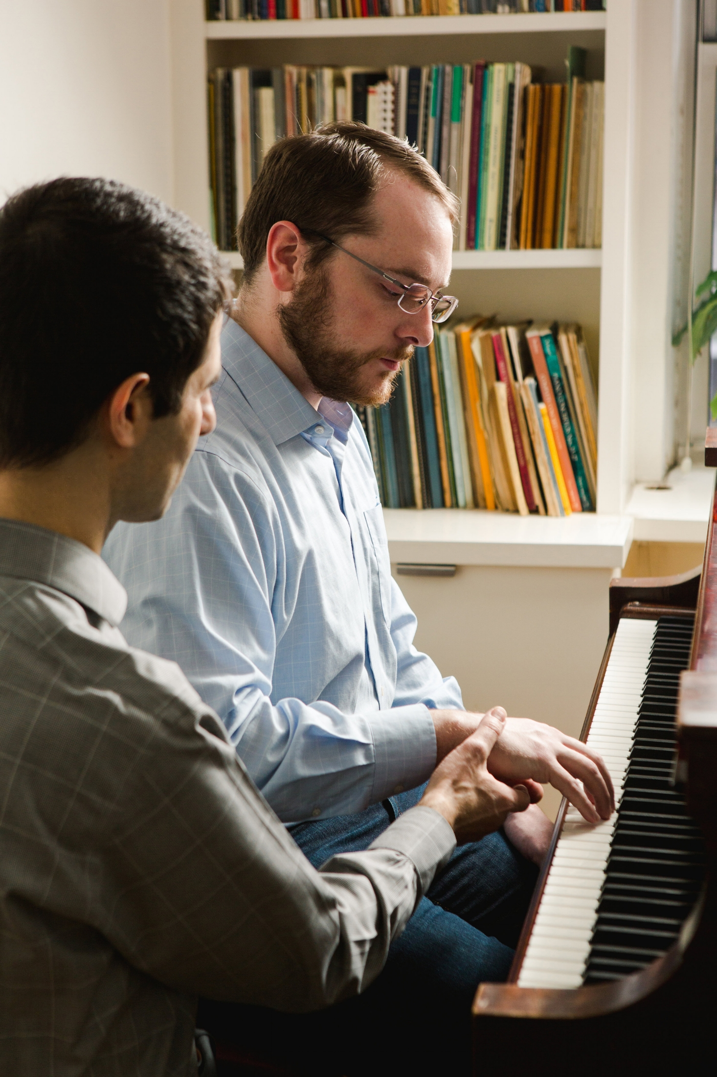 Piano lesson with David Shimoni