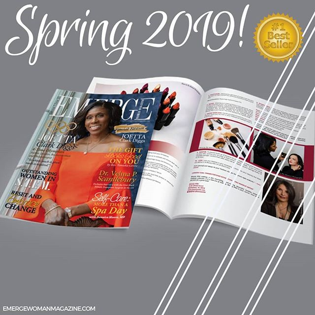 🎉🎉What an EXCITING time!! Emerge Woman Magazine family, we are happy to announce that our SPECIAL EDITION officially hit the MagCloud Bestsellers list!!! Thank you for your continued support, sharing your journey and celebrating with us as we impact the lives of women across the country!  Grab your copy today at www.emergewomanmagazine.com!  #emergewomanmagazine