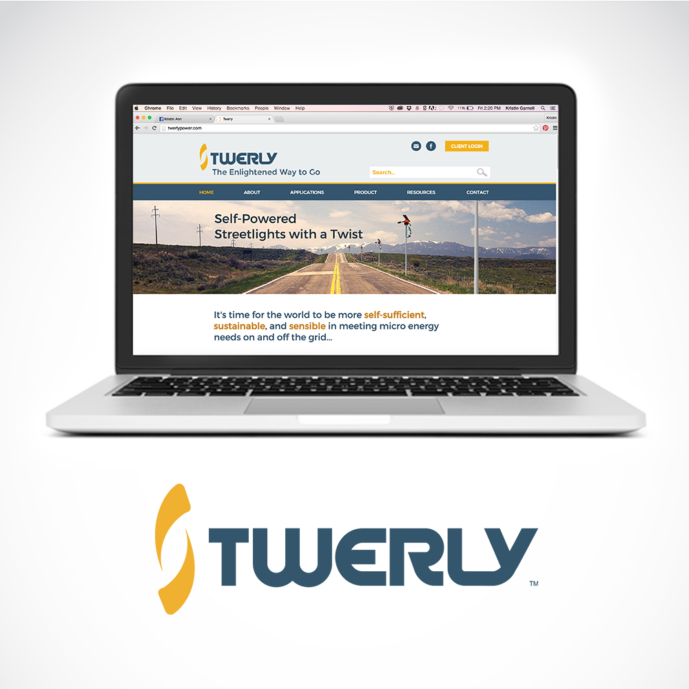 Twerly  logo + brand + web design