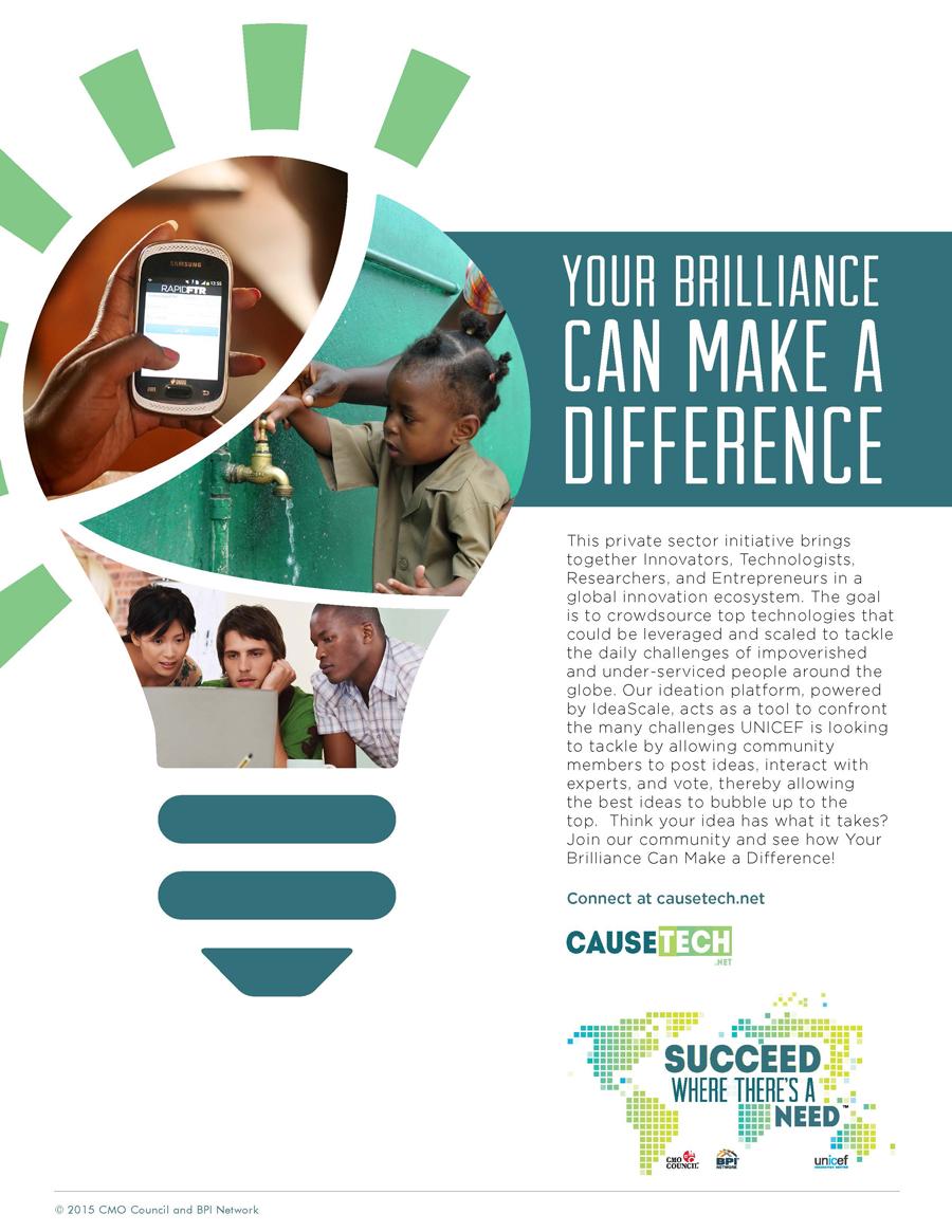 CauseTech  brand + print + web design