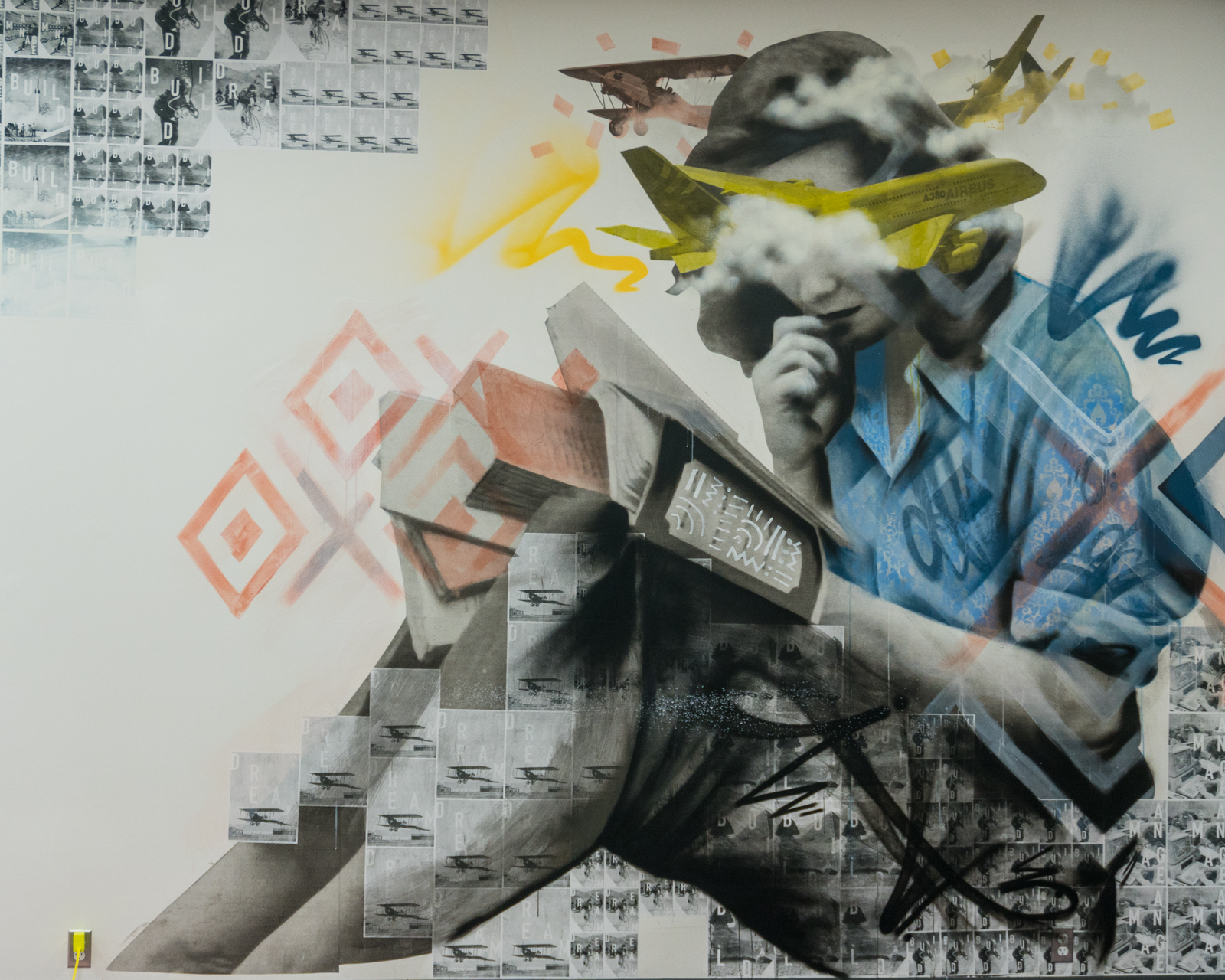 Wetiko Vltrr collaboration mural