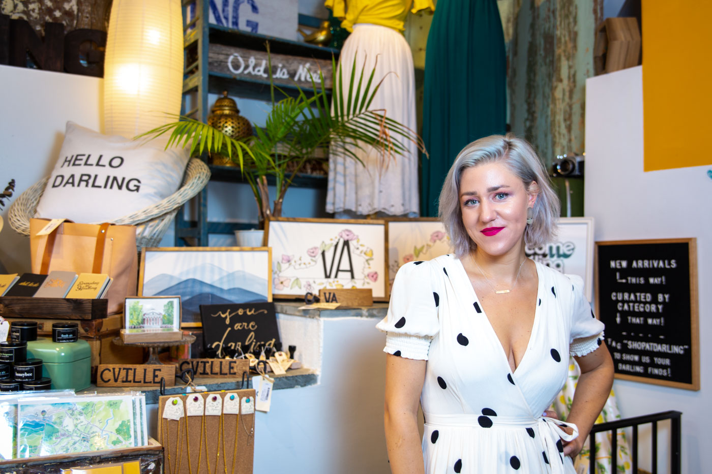 Linnea White of Darling Boutique