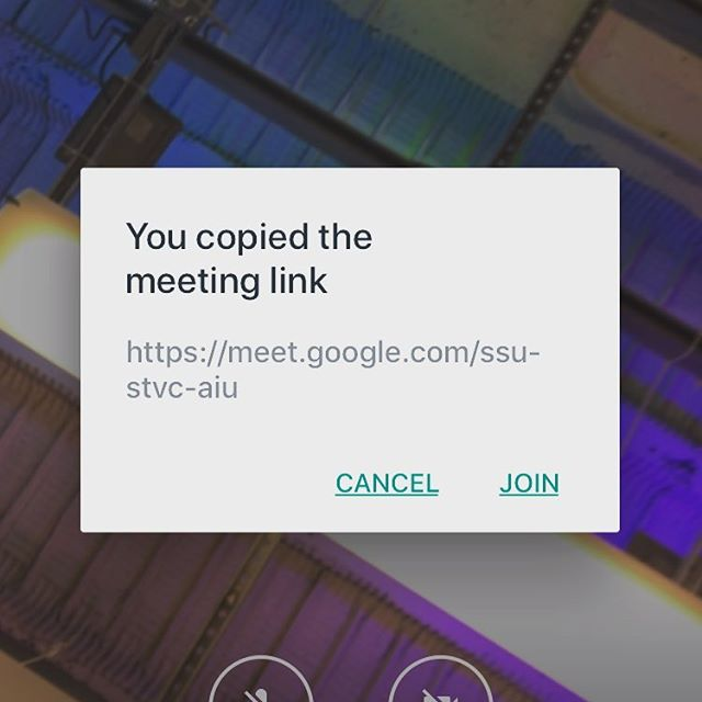 Thank you Google! It recognizes when I have a meeting link copied and automatically asks if I want to join the meeting. Honestly, it's these little things that make me appreciate design and the impact it can have! #uxdesign #ux #google #design #userexperience #gooddesign #ui #uidesign