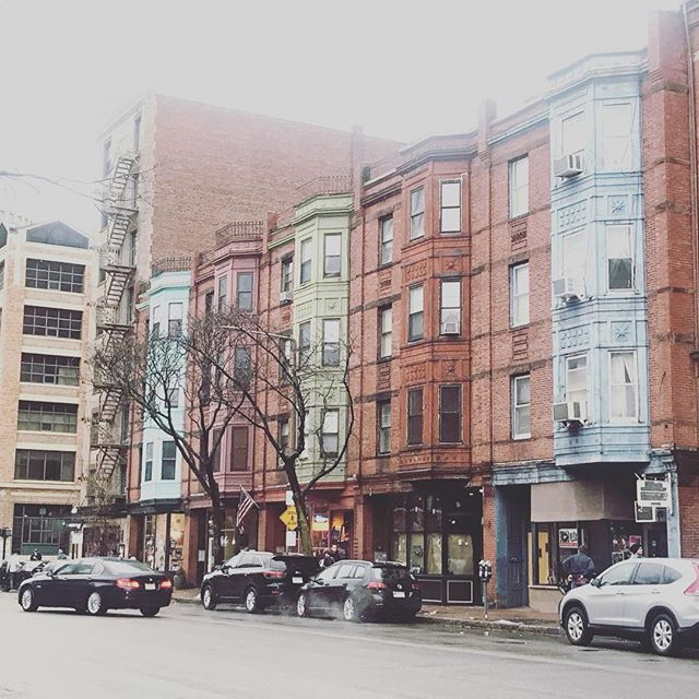 Rainy day walks around town. // Boston, MA