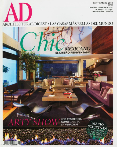 Architectural Digest / 2012 September