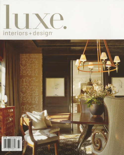 Luxe Interiors and Design /